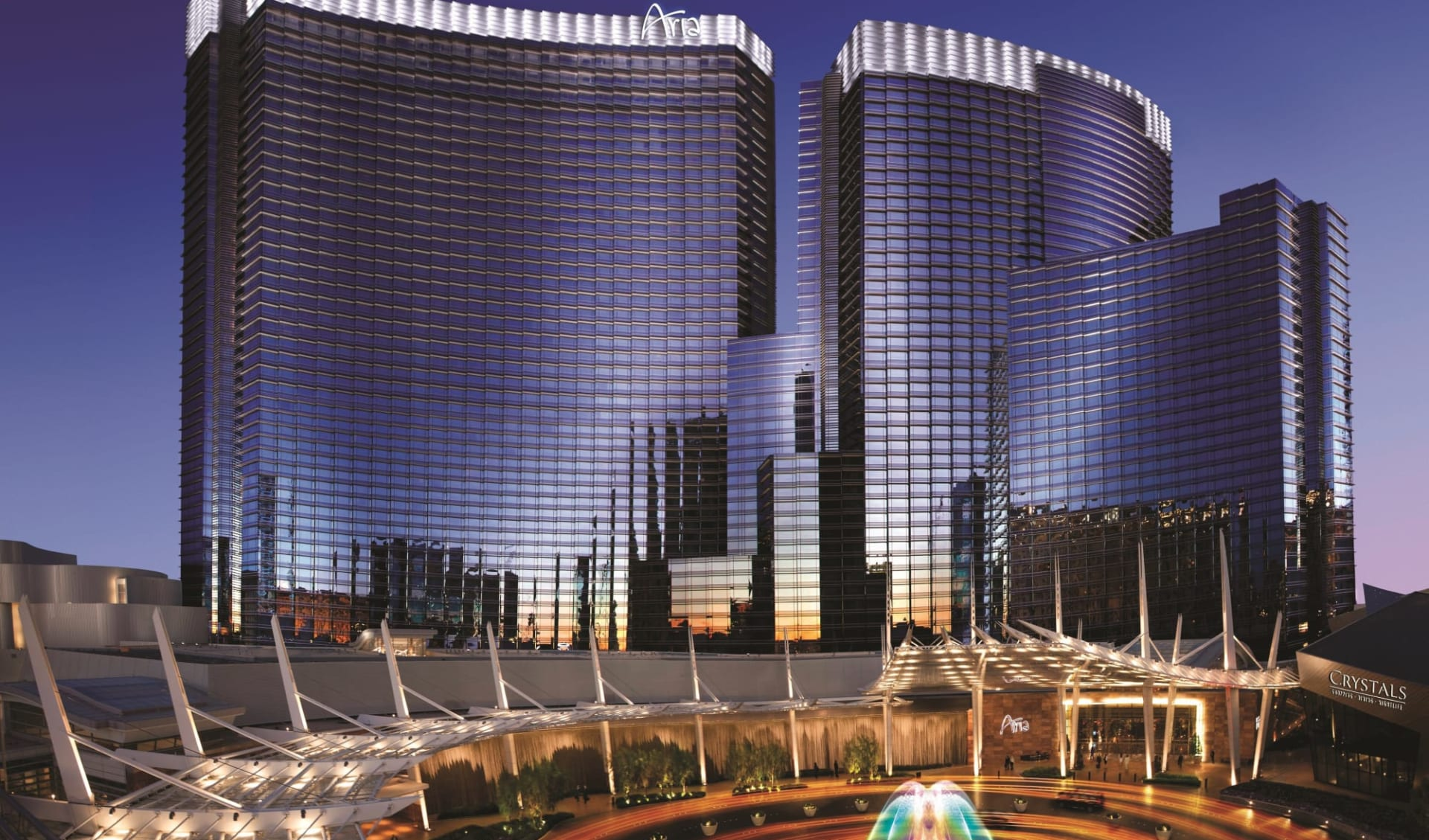 Aria Resort & Spa in Las Vegas:  Aria Resort - Exterior 2