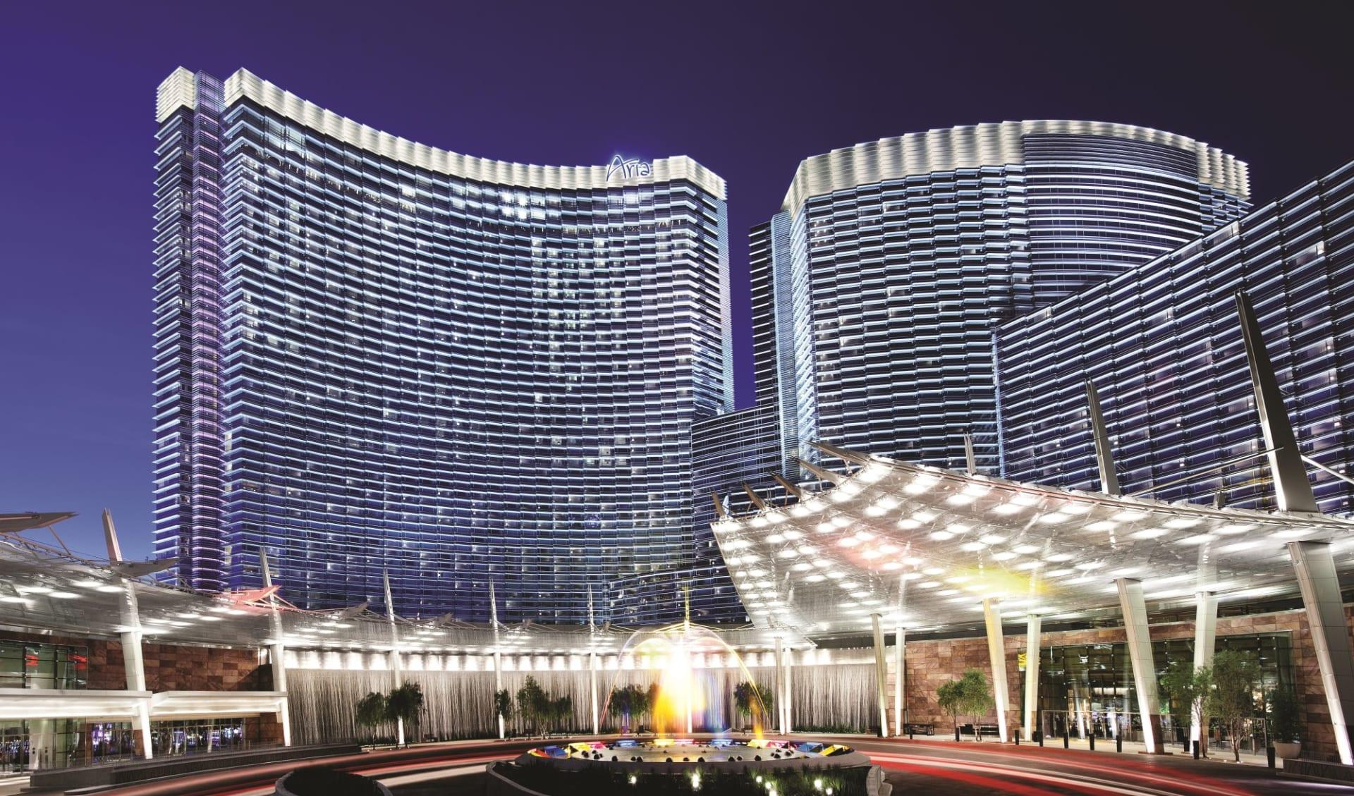 Aria Resort & Spa in Las Vegas:  Aria Resort - Exterior