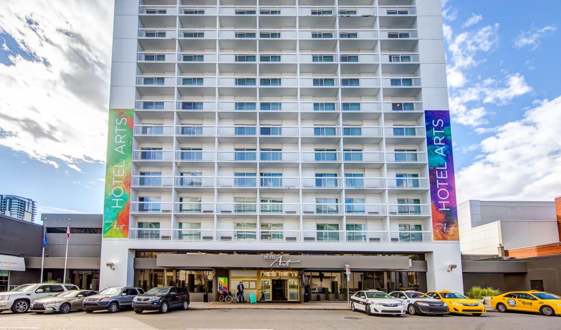 Hotel Arts in Calgary: Exterior_Arts Hotel YYC_Aussenansicht_Jonview