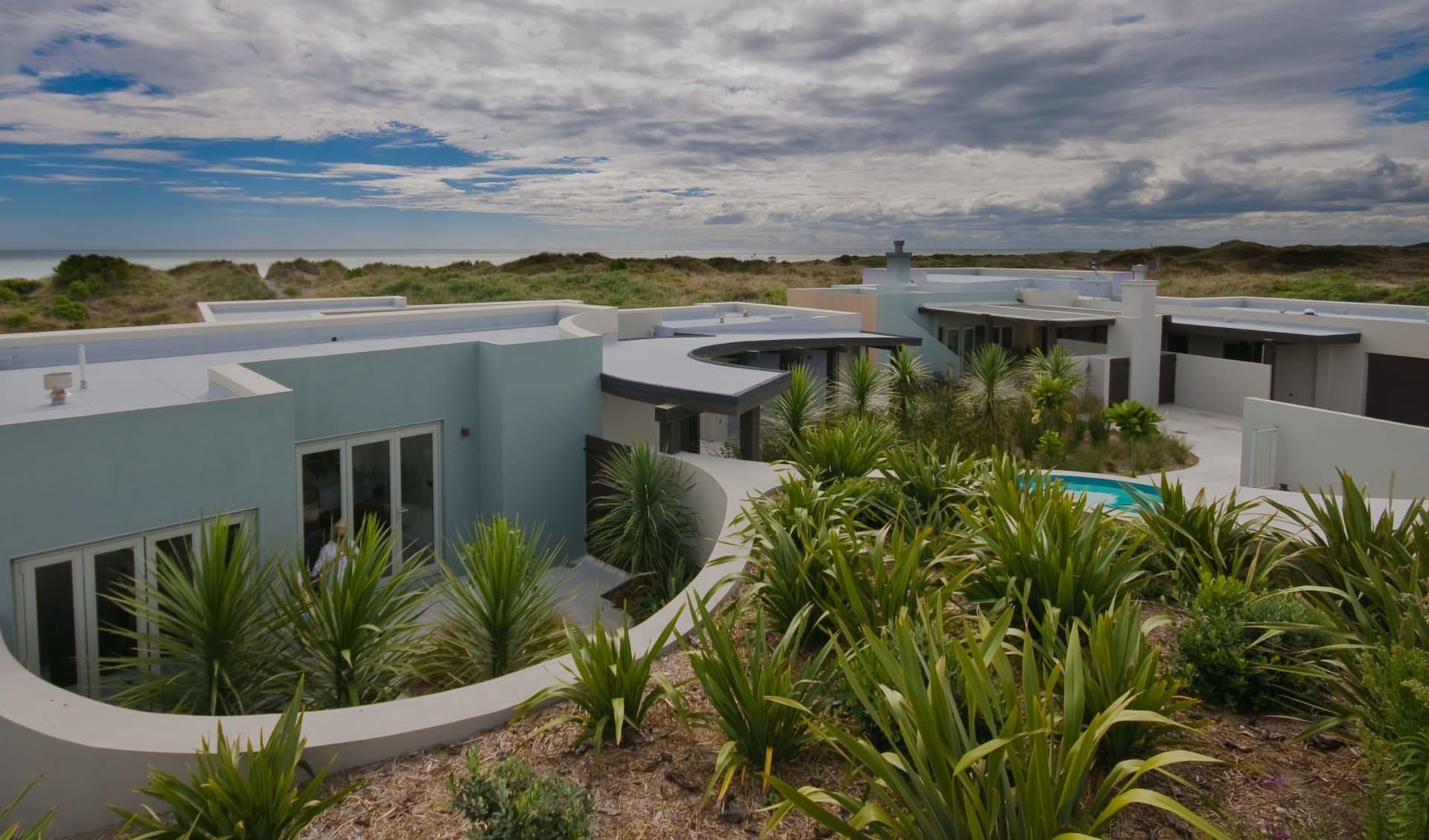Atahuri in Peka Peka: Exterior Atahuri Neuseeland - Geb�ude von aussen cAtahuri