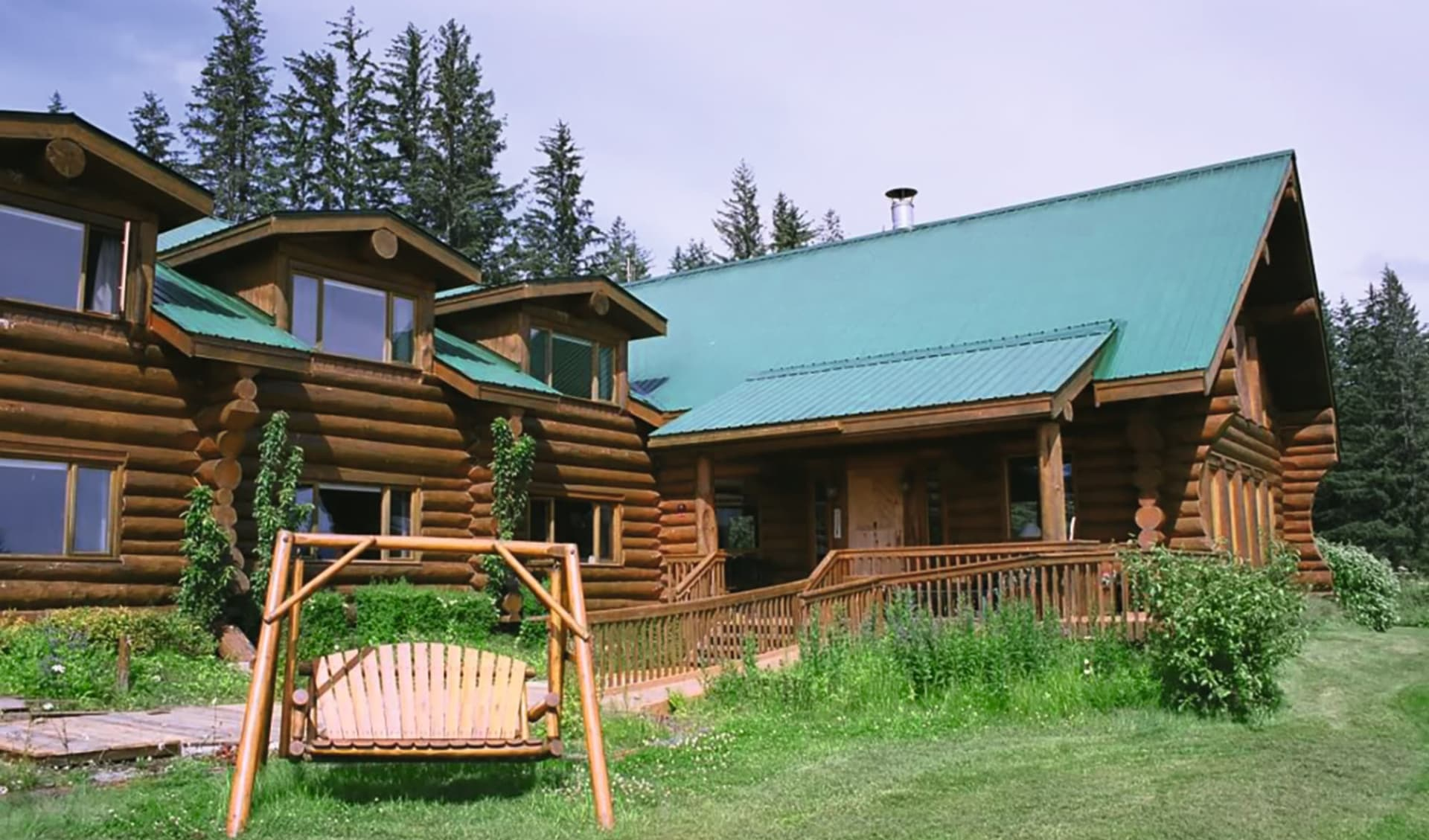 Bear Track Inn in Glacier Bay National Park:  Bear Track Inn