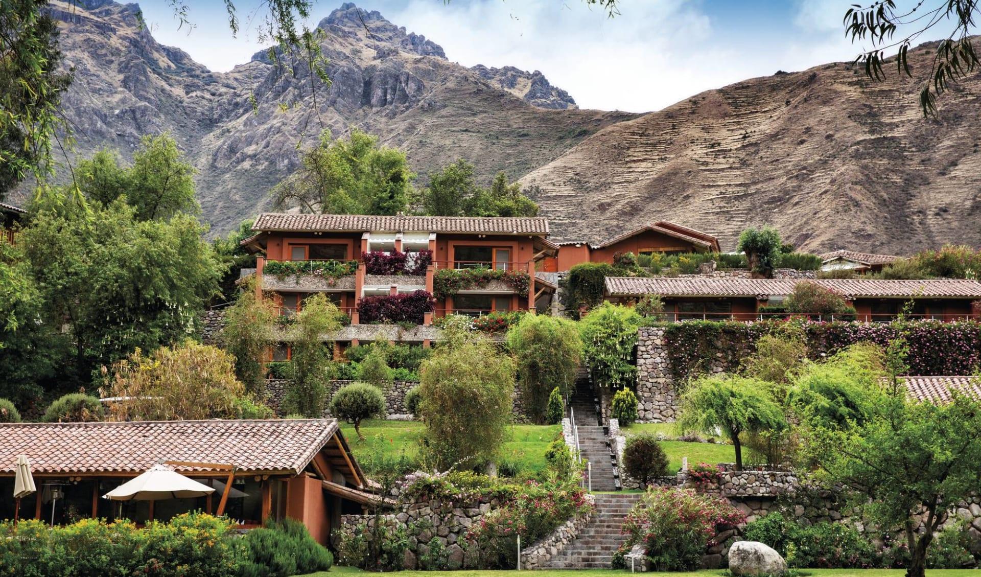 Machu Picchu für Geniesser ab Cuzco: exterior: Belmond Rio Sagrado - Unterkunft Belmondimages