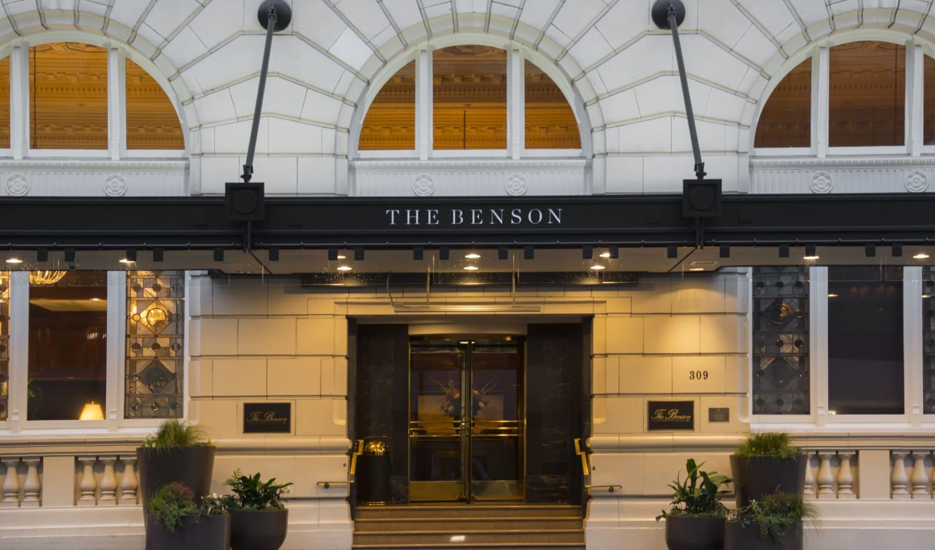 The Benson Hotel in Portland:  Benson 1A