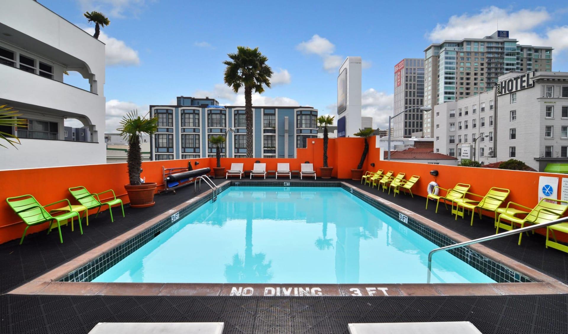 Americania Hotel in San Francisco: Exterior_Best Western Americania_Aussenpool_ATI