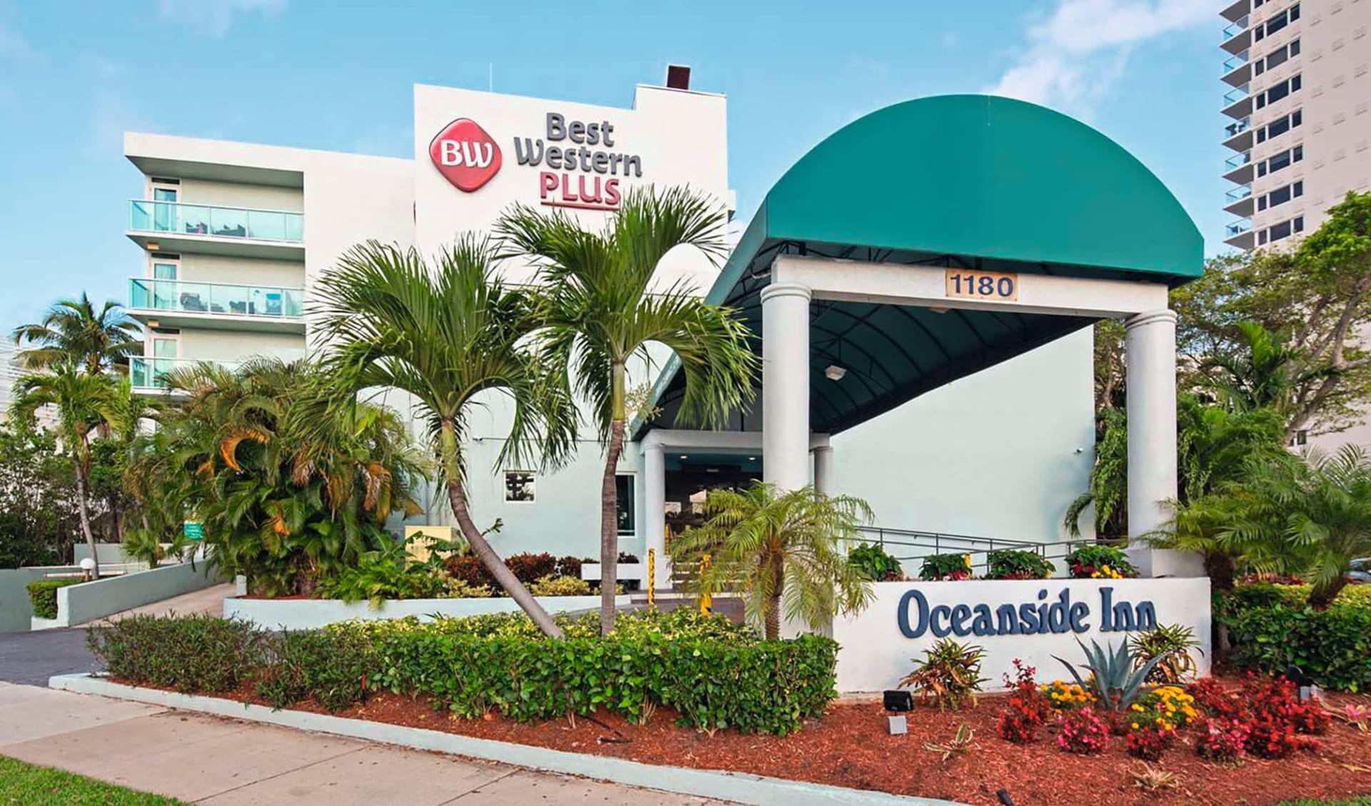 Best Western Plus Oceanside Inn in Fort Lauderdale:  Best Western Plus Oceanside Inn FLL