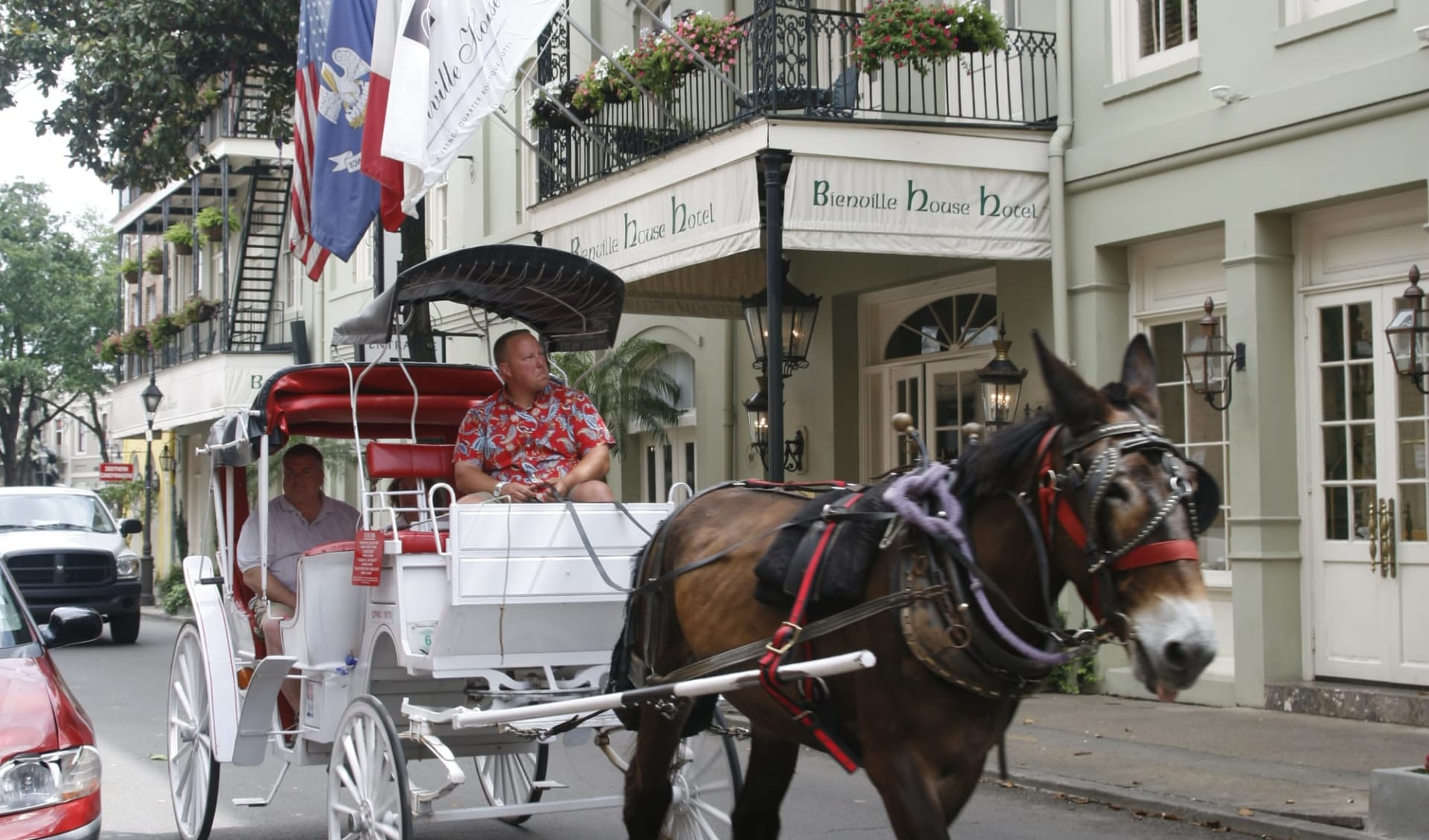Bienville House in New Orleans:  Bienville House - Carriage