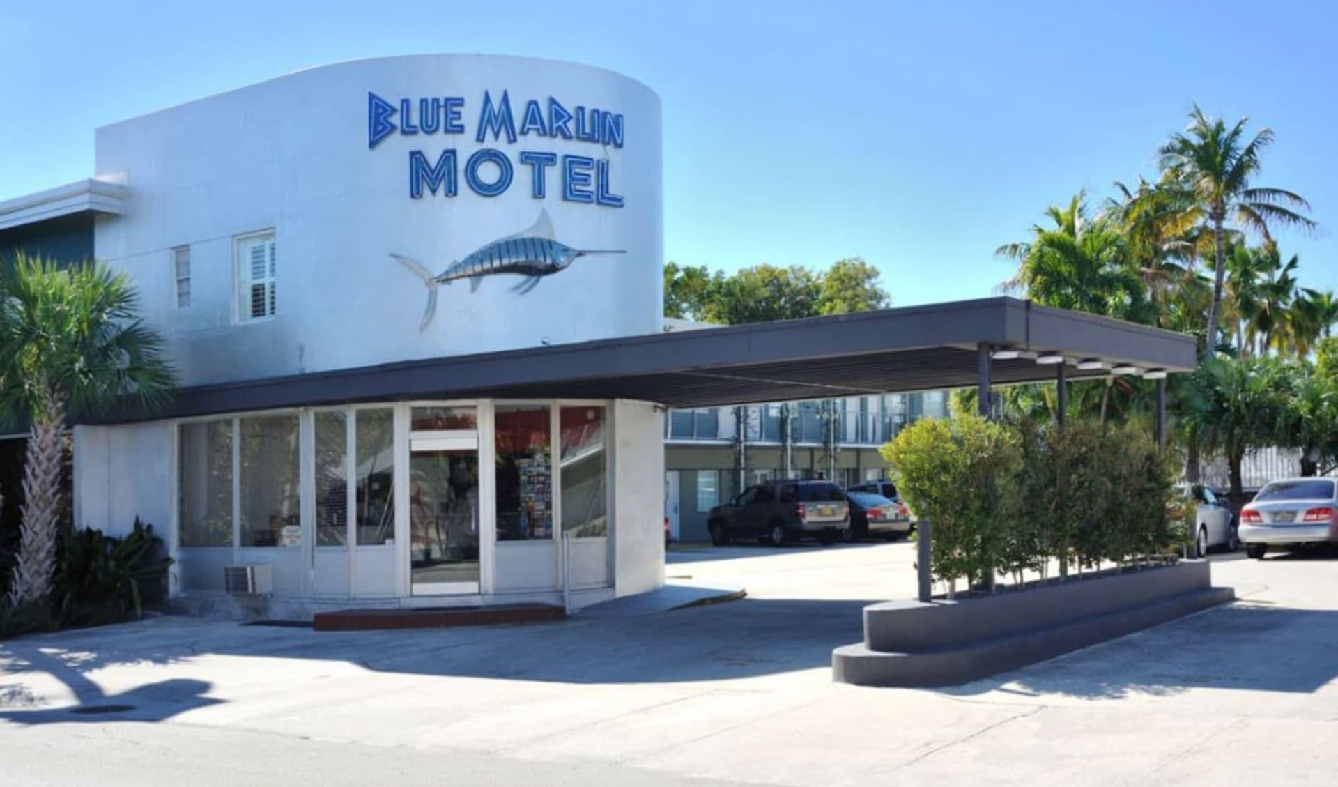 Blue Marlin Motel in Key West:  Blue Marlin Hotel_Aussenansicht