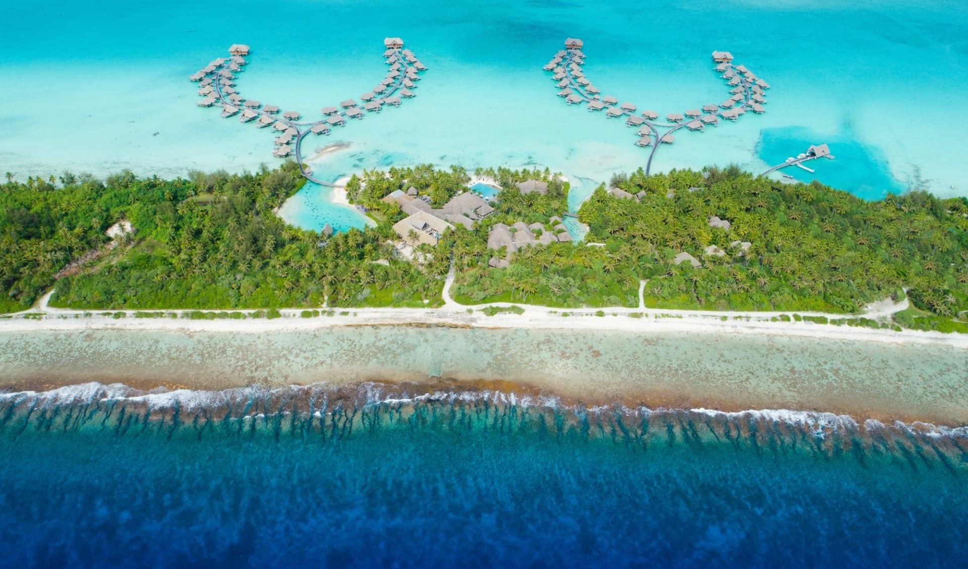 Intercontinental Bora Bora Resort & Thalasso Spa:  BOB Intercontinental Thalasso Aerial View (1)
