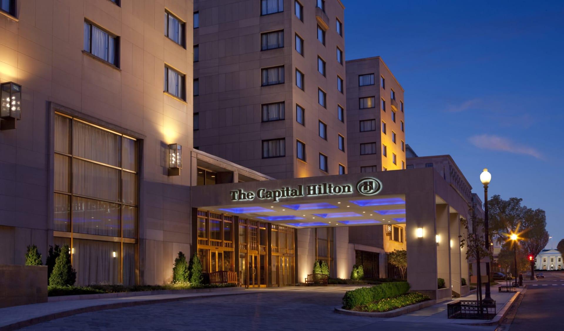 Capital Hilton in Washington D.C.: Exterior_Capital Hilton WAS_Aussenansicht_ATI