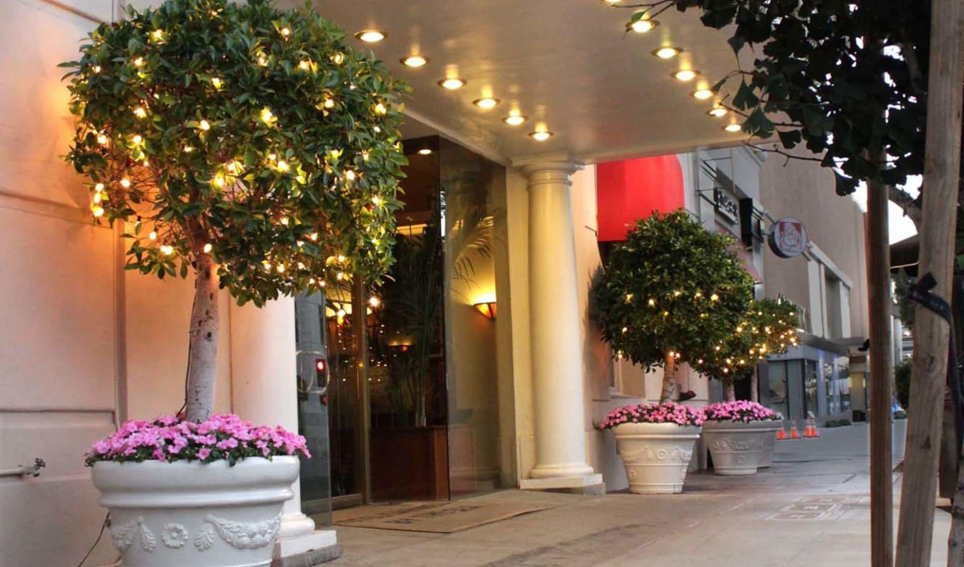 Hotel Carmel by the Sea in Santa Monica:  Carmel by the Sea - Aussenansicht