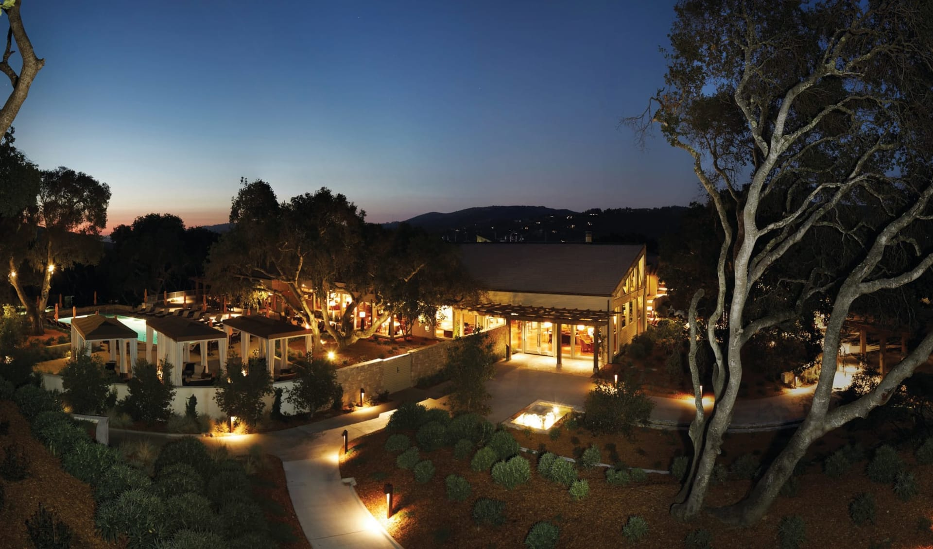 Carmel Valley Ranch: Exterior_Carmel Valley Ranch_Aussenansicht bei Nacht_Bonotel