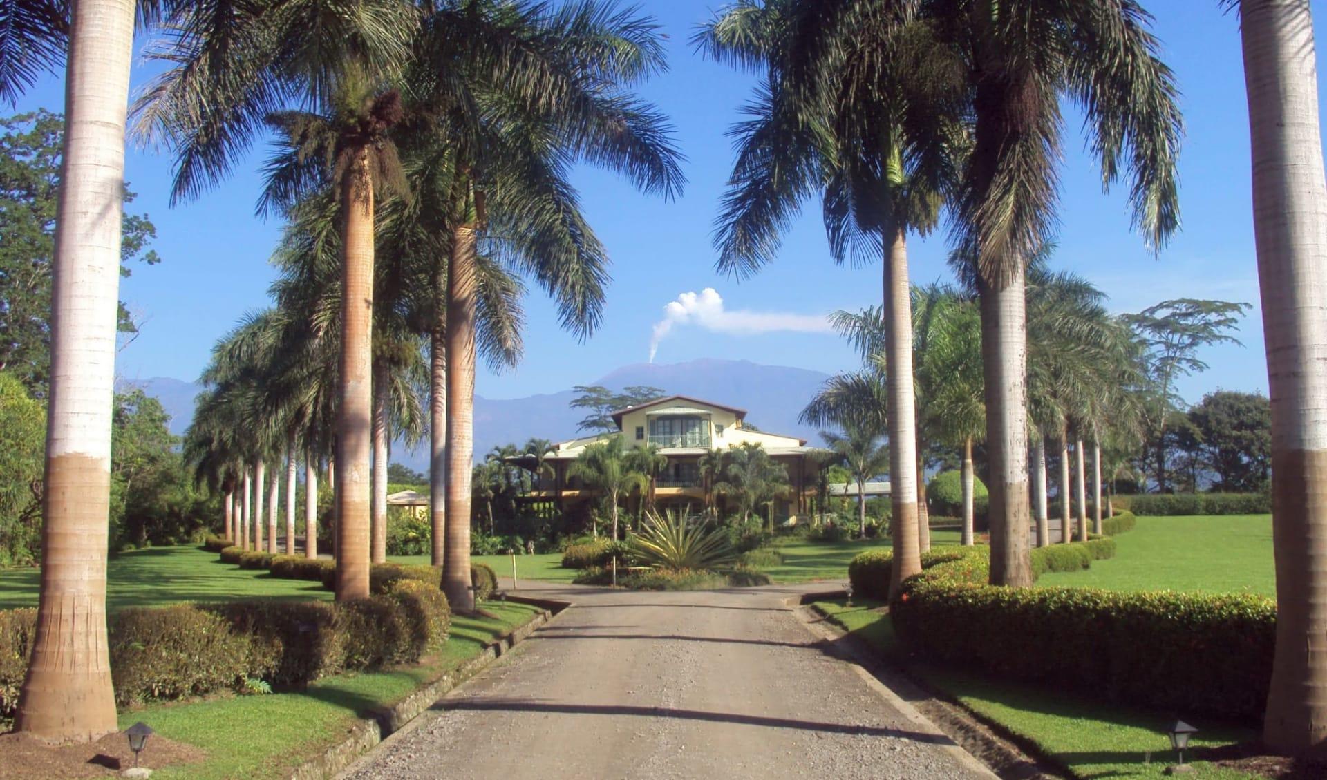 Casa Turire in Turrialba:  Casa Turire Entrance