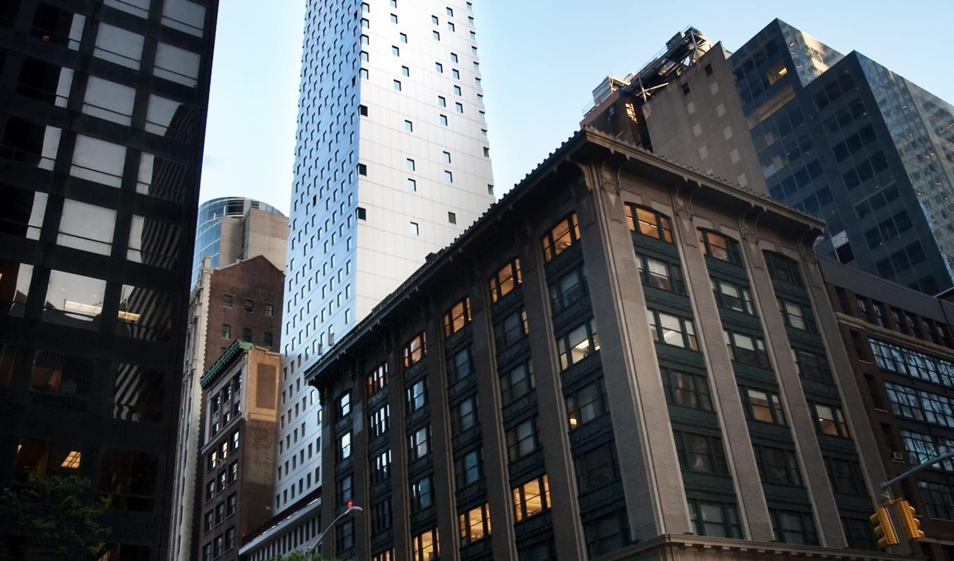Cassa Hotel NY 45th Street in New York - Manhattan:  Cassa Hotel - Aussenansicht
