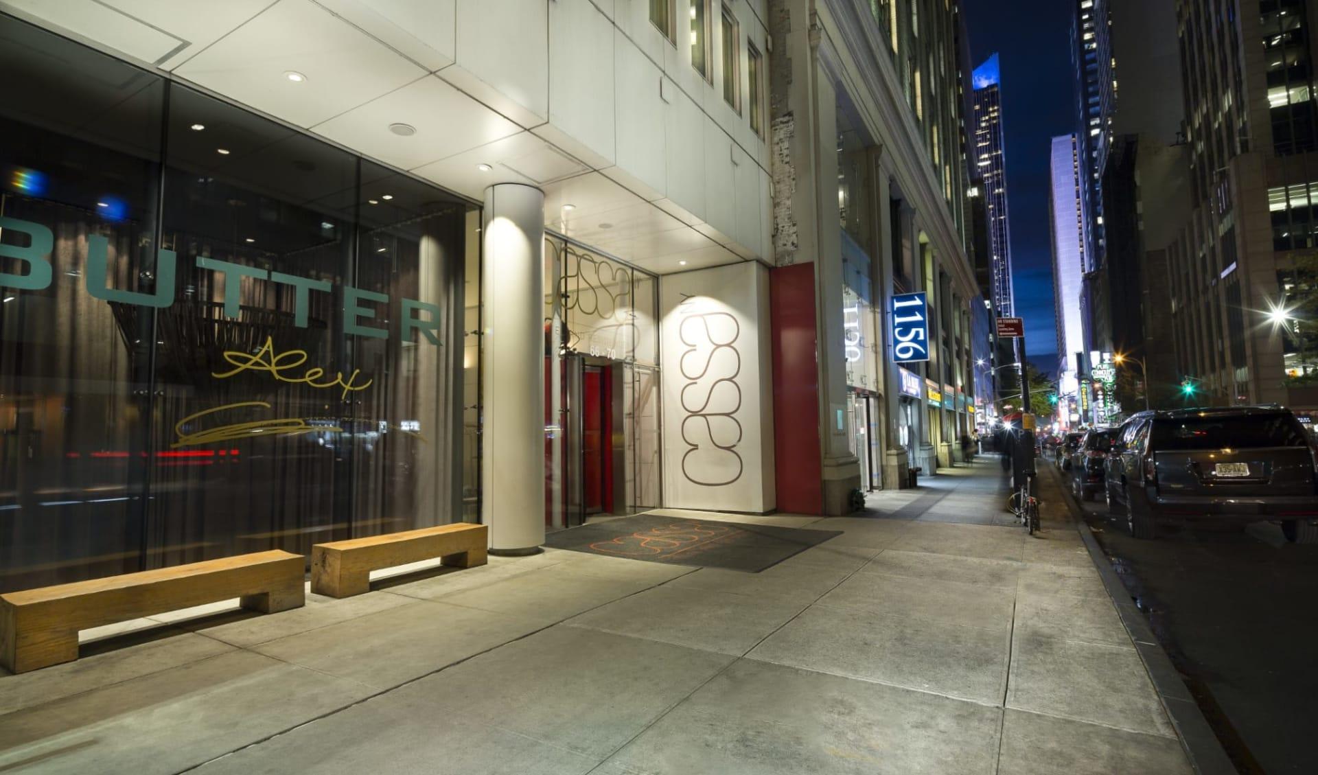 Cassa Hotel NY 45th Street in New York - Manhattan:  Cassa Hotel - Eingang