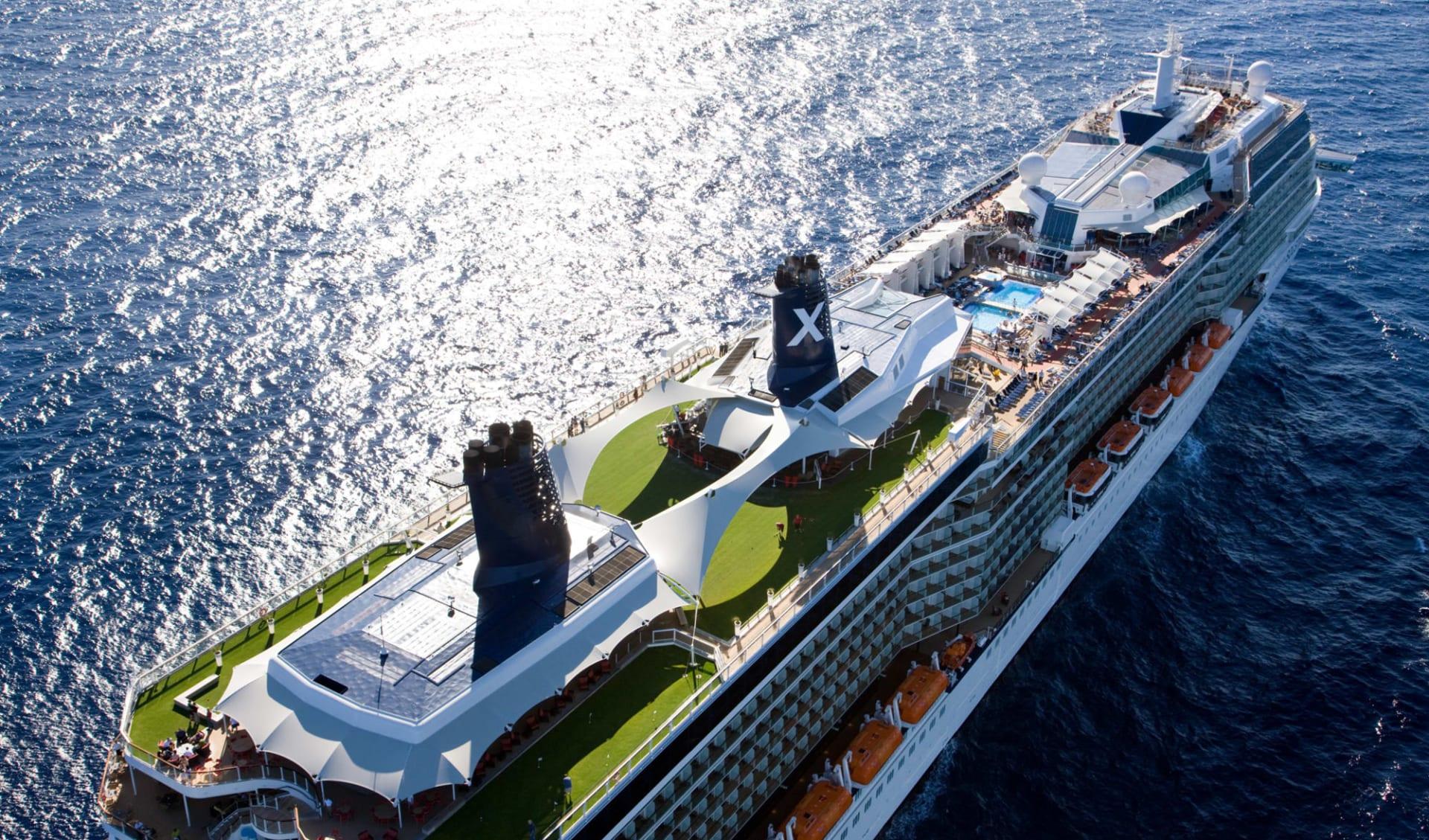 Kreuzfahrt Neuseeland, Fidschi, Samoa und Tonga ab Auckland: exterior: Celebrity Cruises - Celebrity Solstice