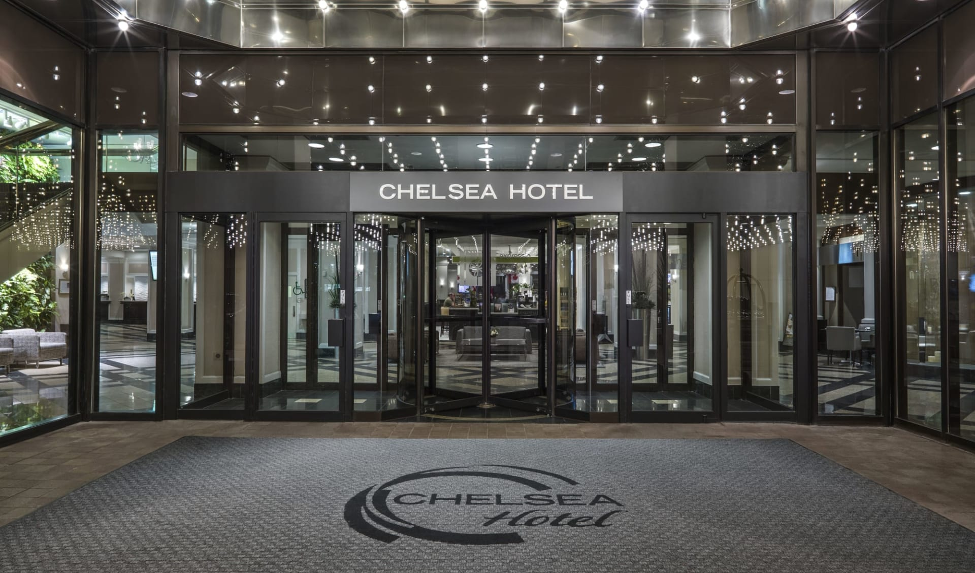Chelsea Hotel in Toronto:  Chelsea Hotel_BayStreetEntrance