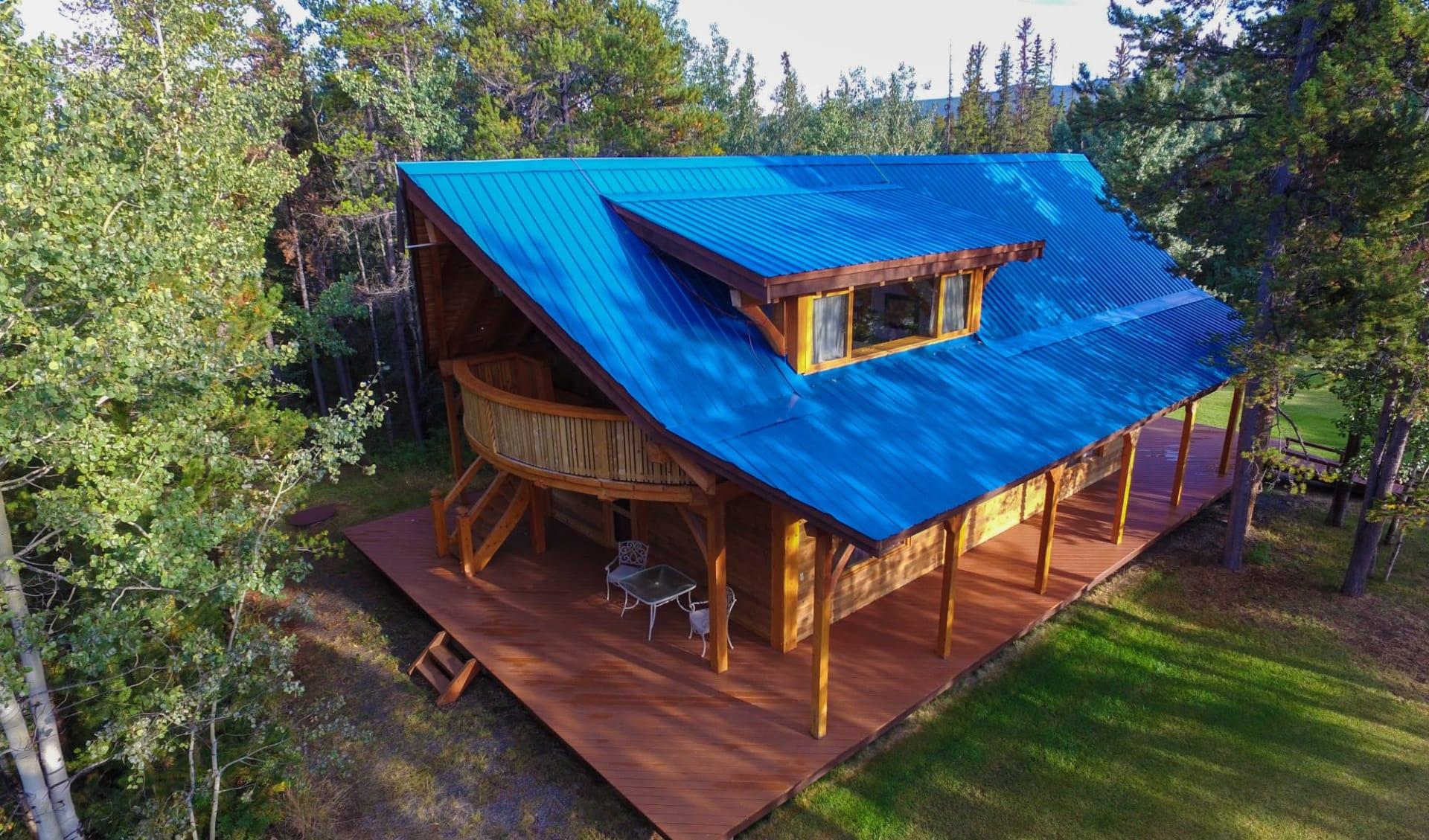 Chilko Experience Wilderness Resort in Tatla Lake: Exterior_Chilko Wilderness Lodge_Aussenansicht 3_Jonview