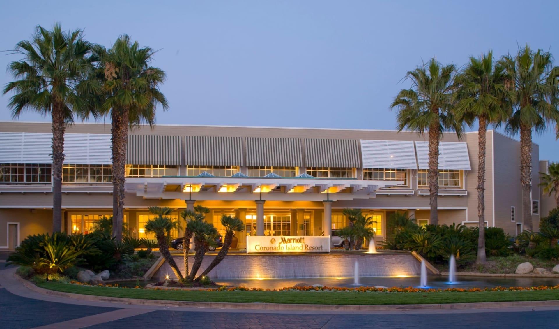 Coronado Island Marriott Resort in San Diego: Exterior_Coronado Island Marriott Resort_Aussenansicht2_Bonotel