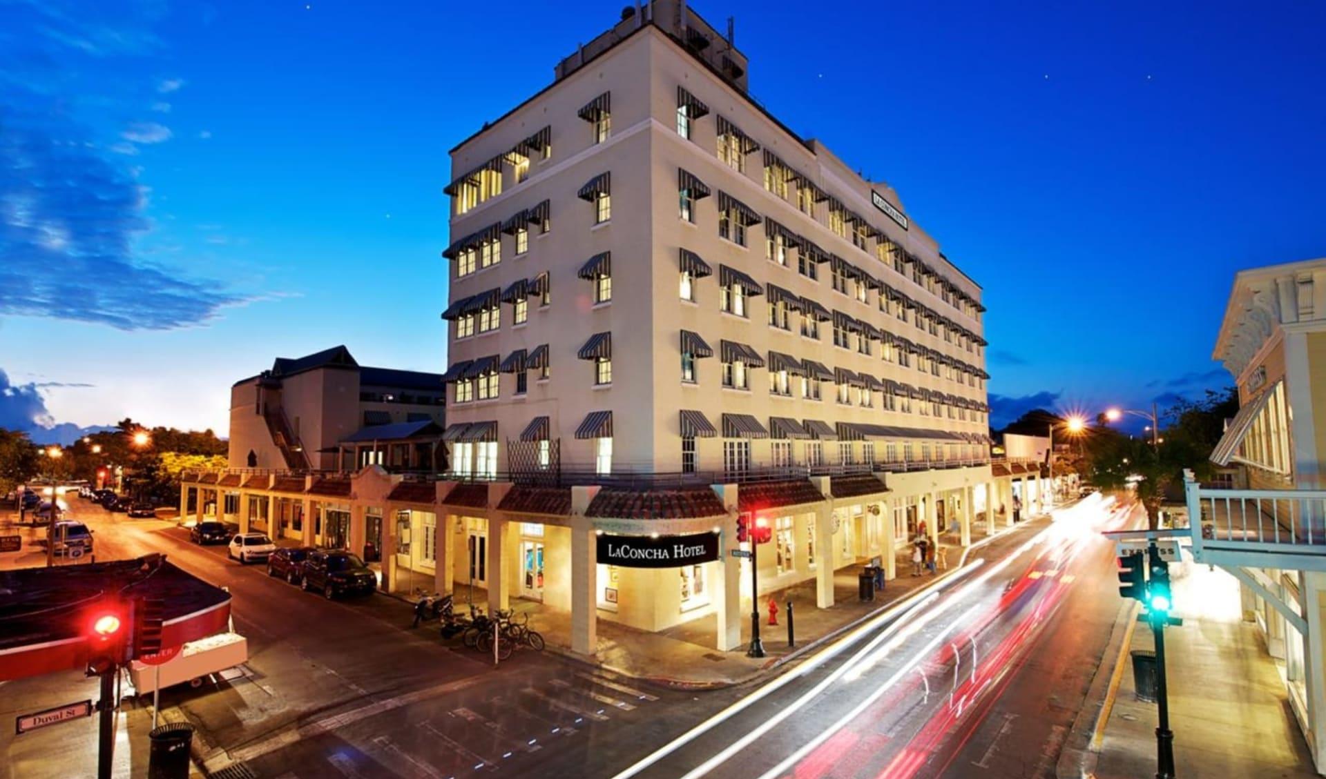 La Concha Hotel & Spa in Key West:  Crowne Plaza La Concha_Aussenansicht