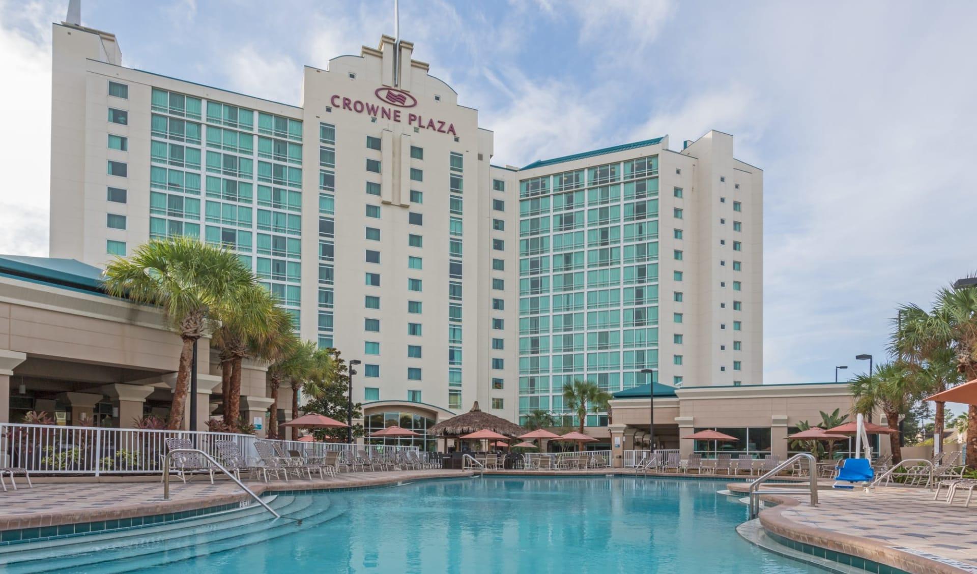Crowne Plaza in Orlando:  Crowne Plaza MCO - Aussenansicht