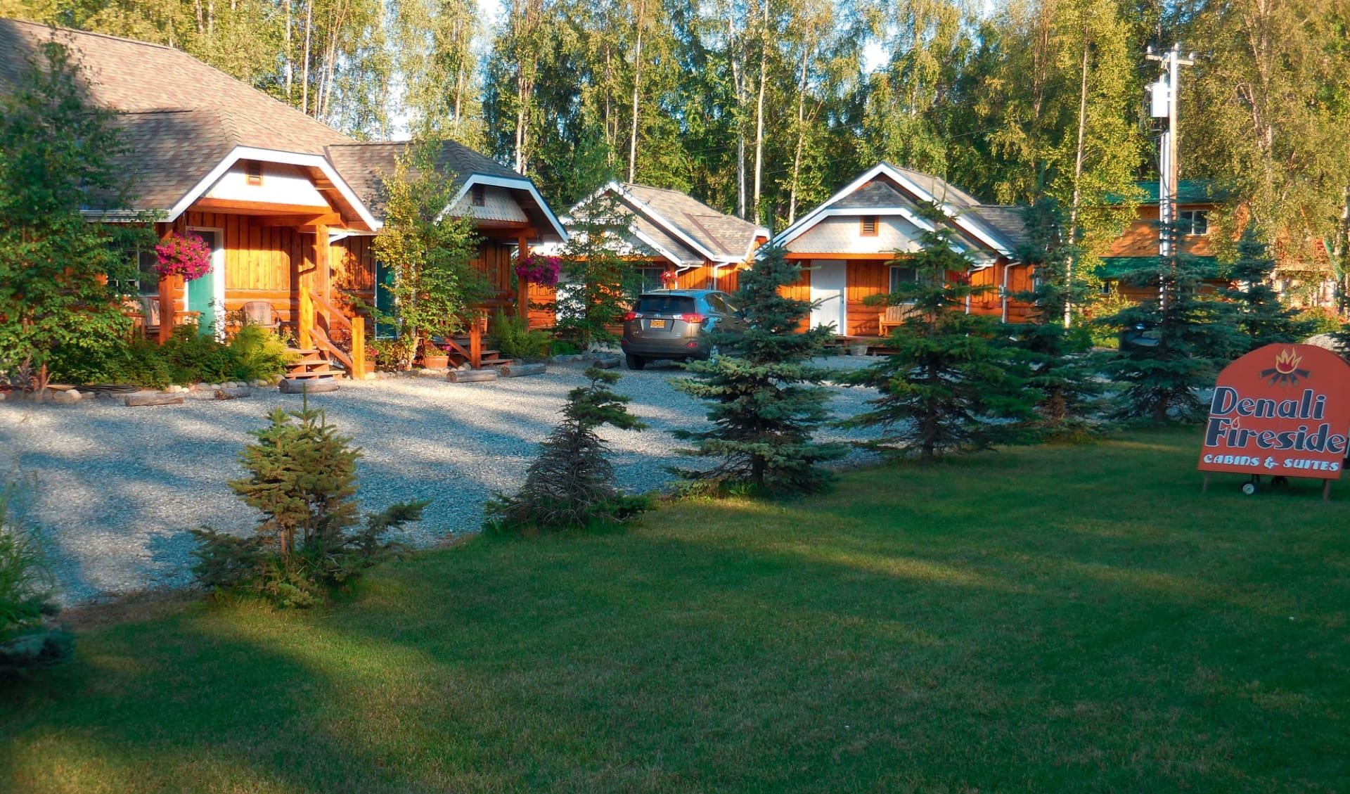 Denali Fireside Cabin and Suites in Talkeetna: _Denali Fireside Cabins und Suites - Aussenansicht