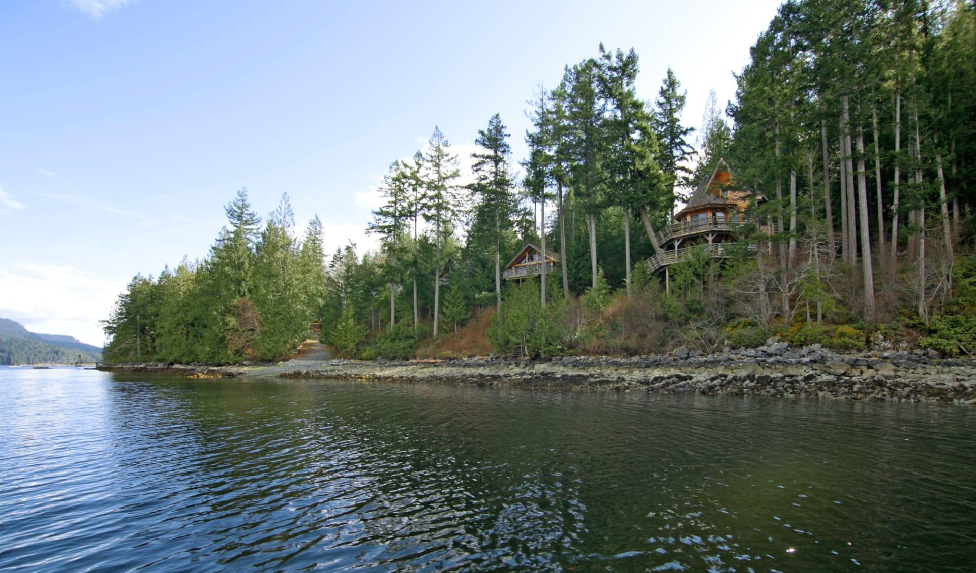Desolation Sound Wilderness Resort in Powell River:  Desolation Resort_ViewFromWater
