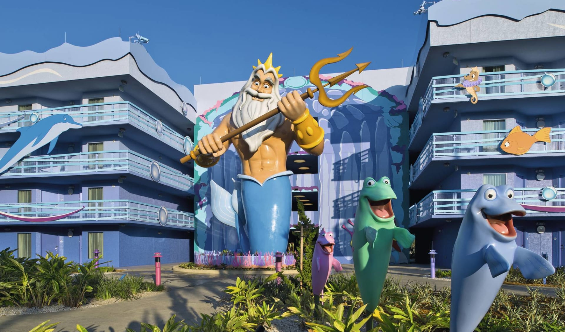 Disney's Art of Animation Resort in Lake Buena Vista: Exterior_Disney's Art of Animation_Aussenansicht_BON