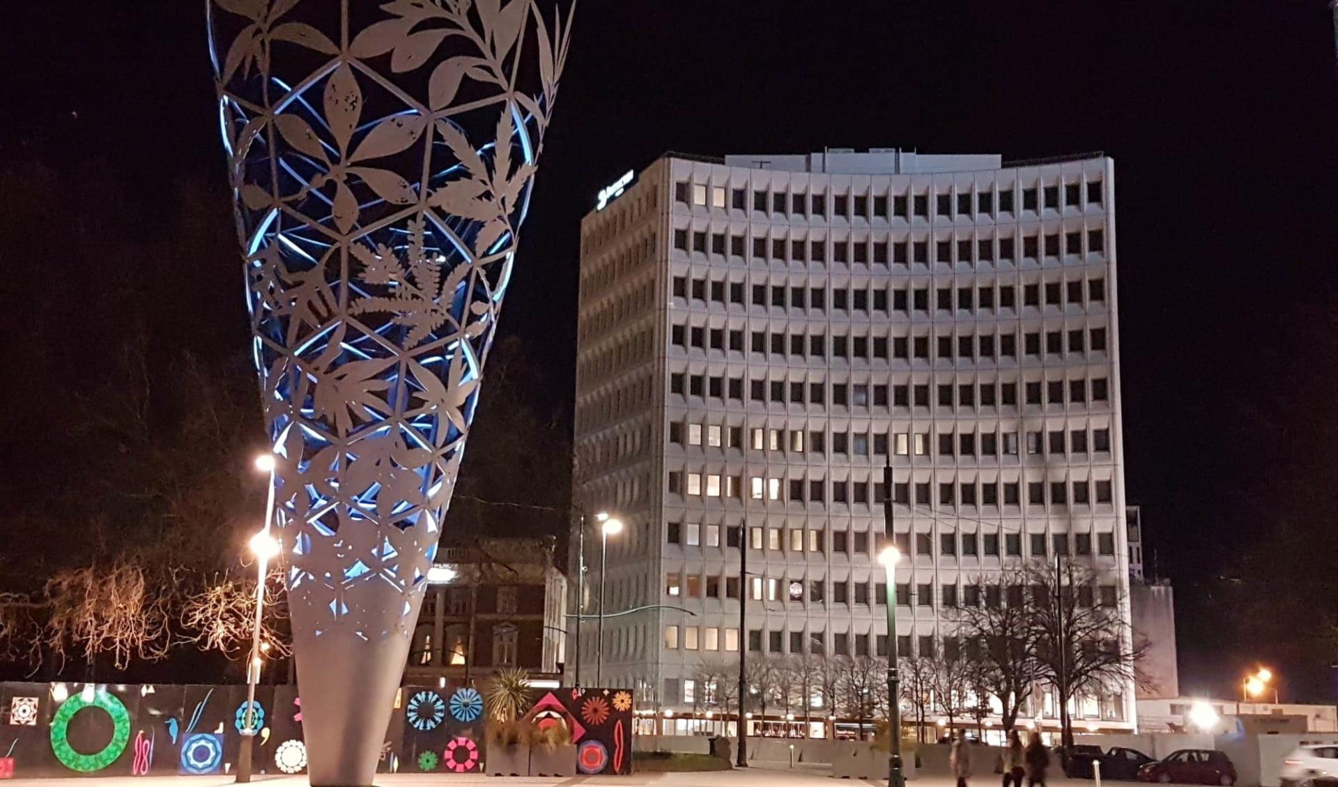 Distinction Christchurch Hotel: Exterior Distinction Christchurch - Night Exterior cDistinction