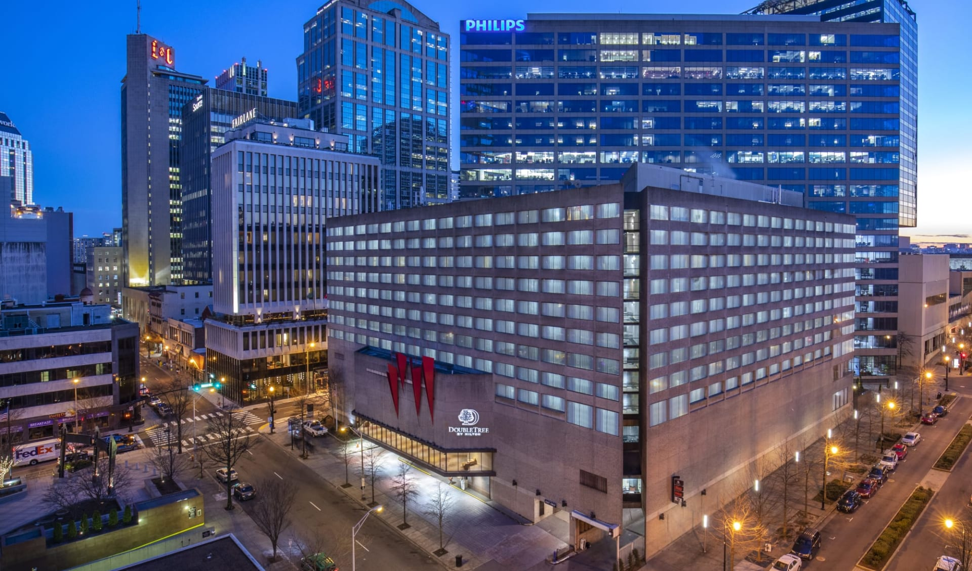 DoubleTree by Hilton Hotel Nashville Downtown: Doubletree Nashville - Aussenasicht