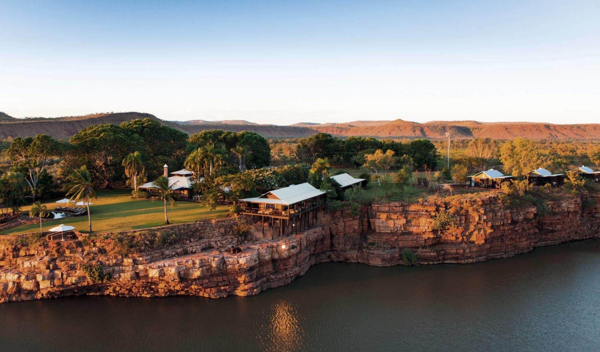 Kimberley Complete ab Broome: exterior: El Questro Wilderness Park - Vogelperspektive