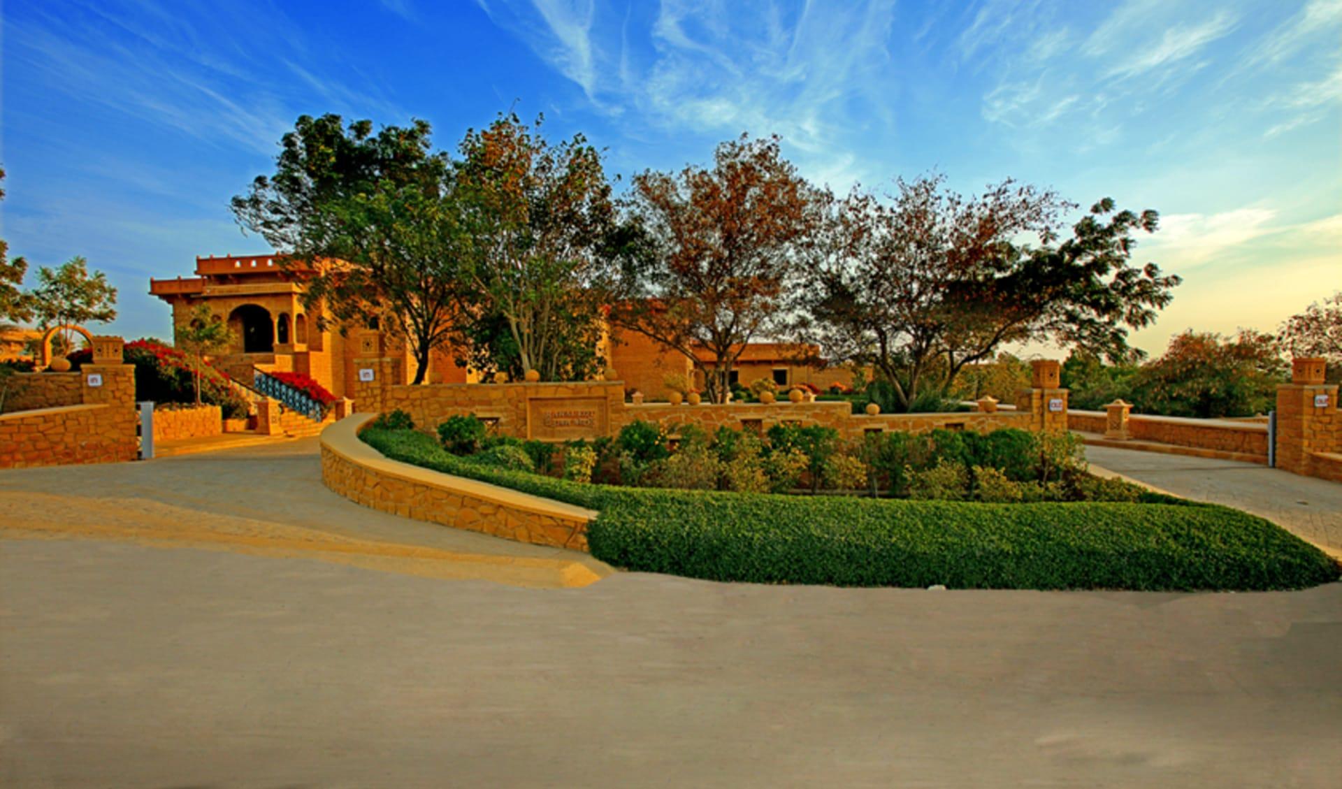 Rawalkot in Jaisalmer: Entrance