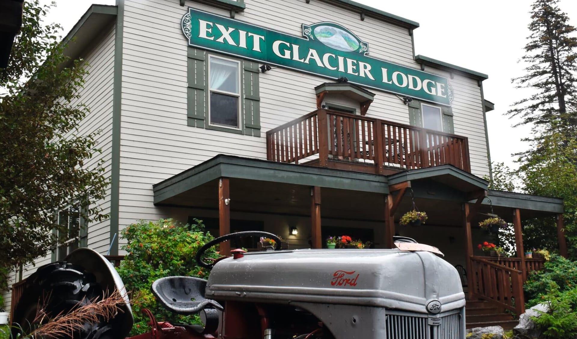 Exit Glacier Lodge in Seward: Exterior_Exit Glacier Lodge_Aussenansicht_GoNorth