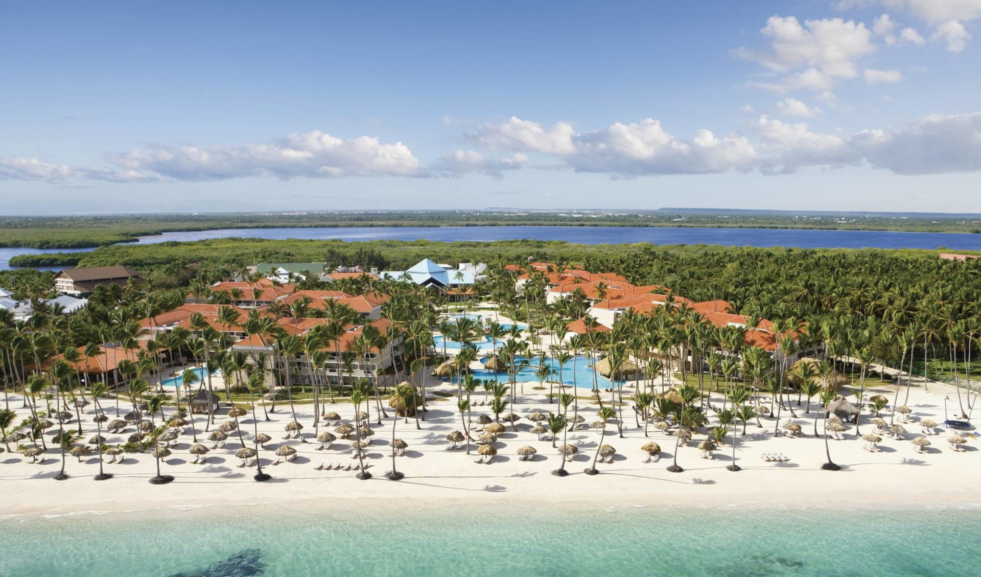 Dreams Palm Beach in Punta Cana:  Exterior - Dreams Palm Beach Punta Cana DREPB_Aerial1_1 c AM Resort