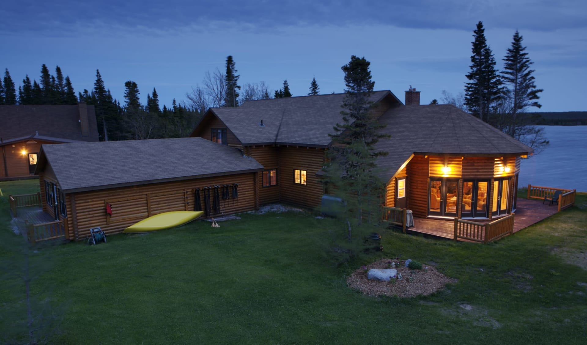 Tuckamore Lodge & Country Inn in St. Anthony: Aussenansicht
