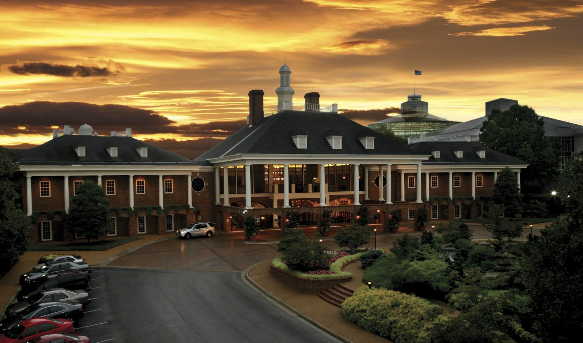 Gaylord Opryland Resort in Nashville:  Gaylord Opryland - Aussenansicht