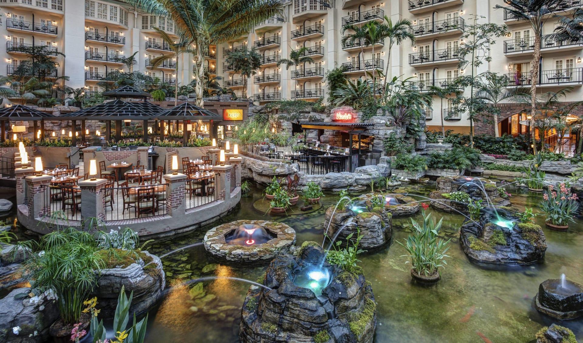 Gaylord Opryland Resort in Nashville:  Gaylord Opryland - Cascades Atrium