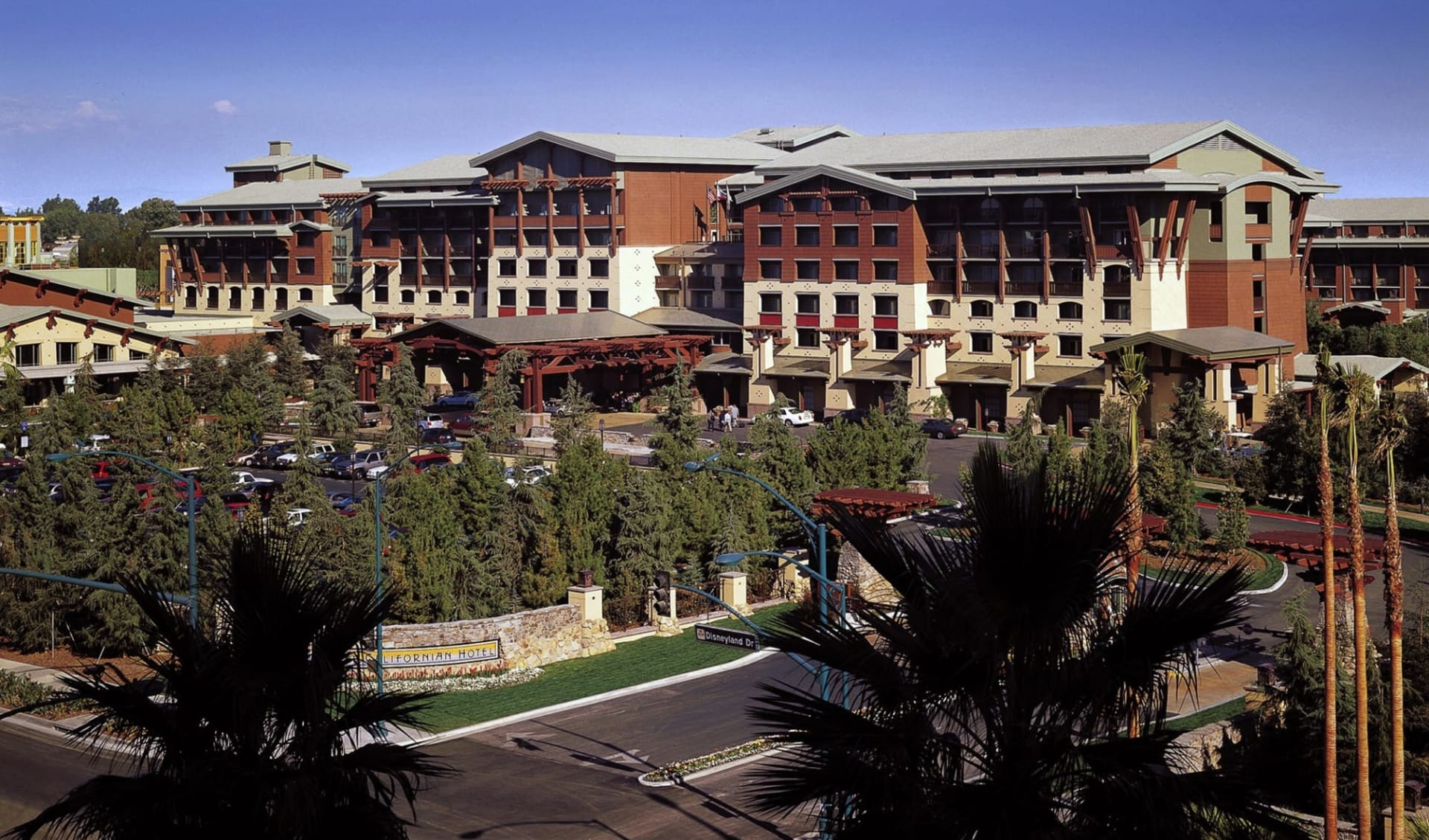 Disney's Grand Californian Hotel and Spa in Anaheim:  Grand California Anaheim Exterior