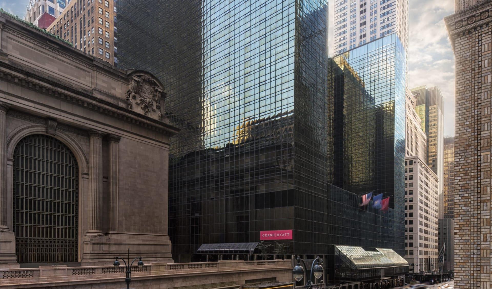 Grand Hyatt New York in New York - Manhattan:  Grand Hyatt NYC - Aussenansicht