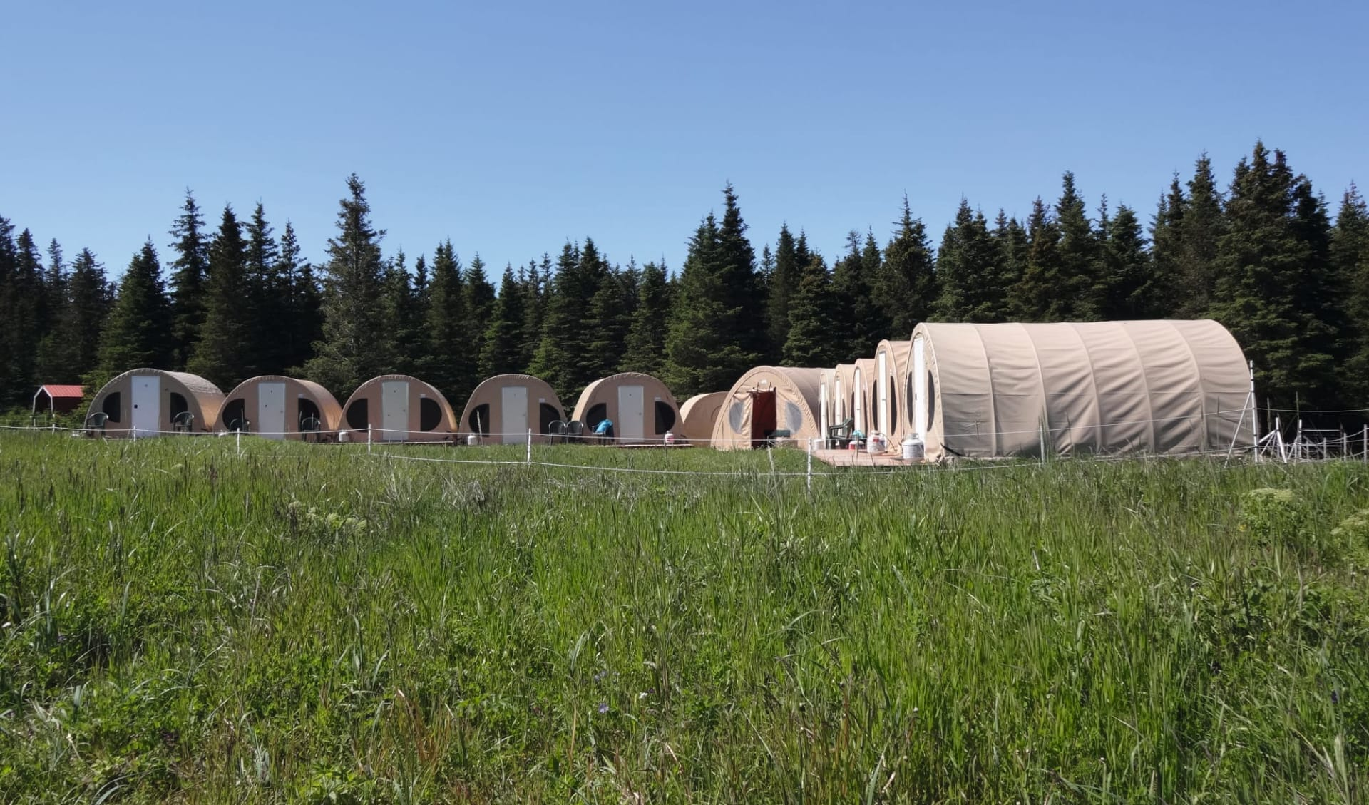 Bärenbeobachtung Great Alaska Bear Camp ab Anchorage: exterior_Great Alaska Bear Camp