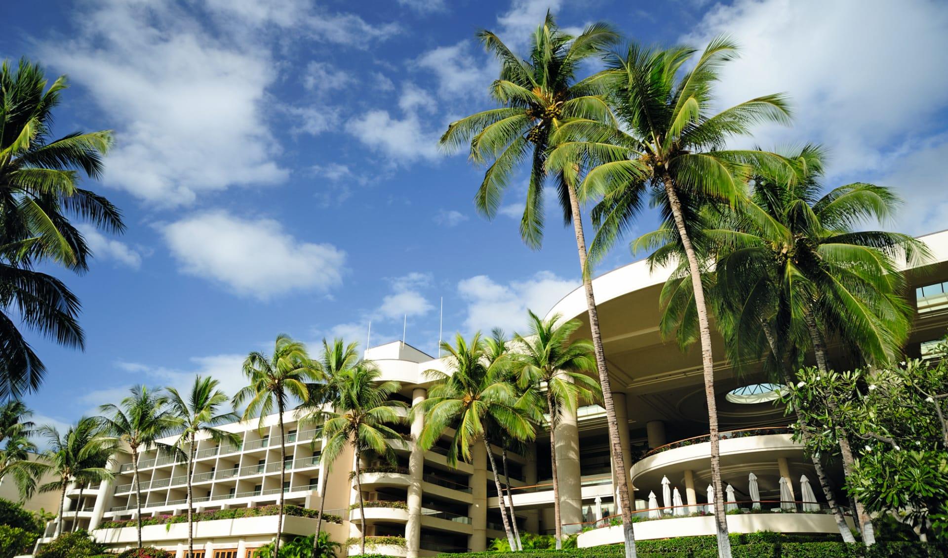 The Westin Hapuna Beach Resort in Kamuela: exterior hapuna beach prince hotel gebäude palmen