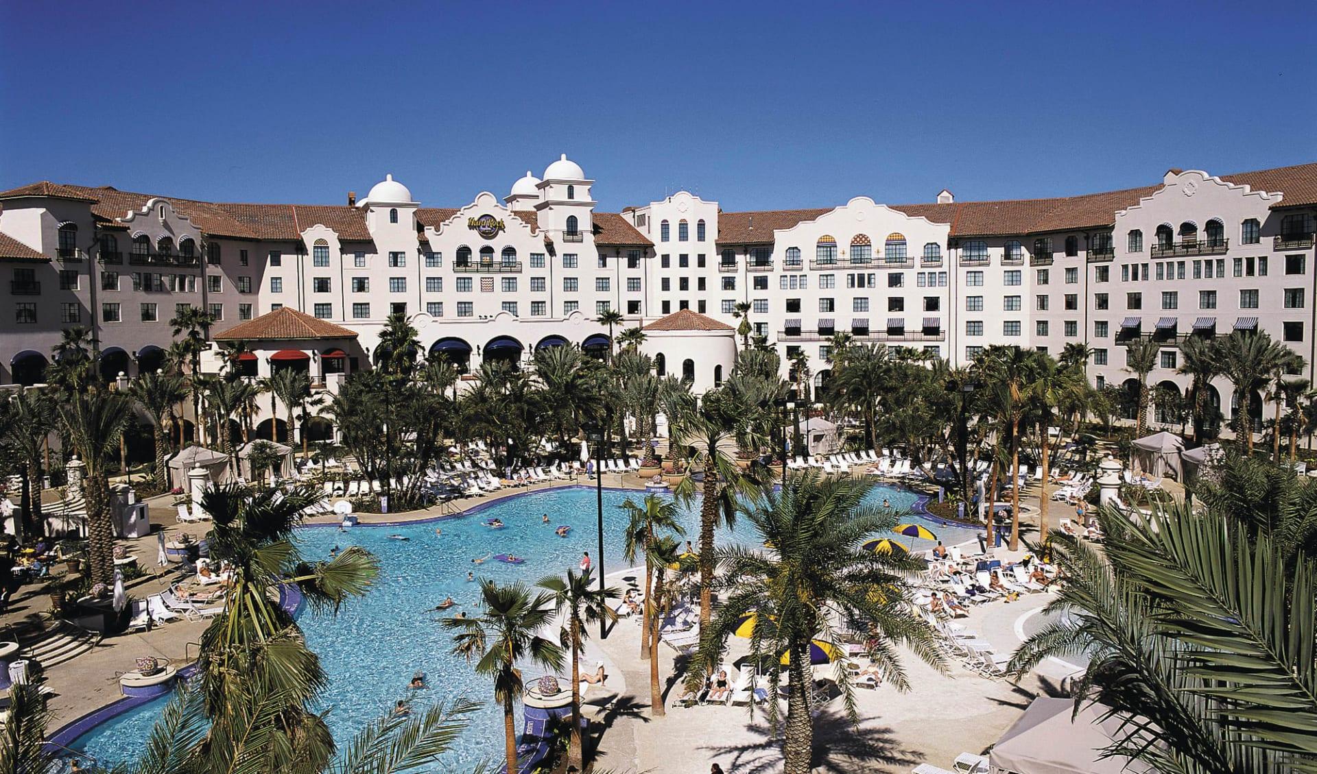 Hard Rock Hotel Orlando:  Hard Rock Hotel Orlando - Aussenpool
