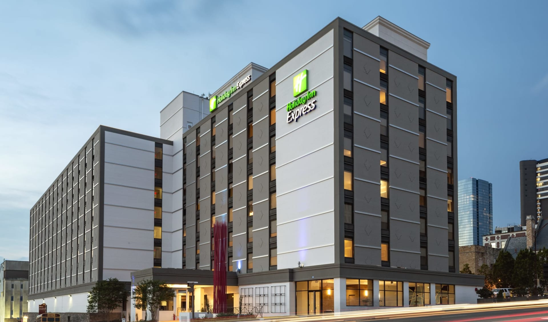 Holiday Inn Express Downtown in Nashville: Holiday Inn Express Downtown - Aussenasicht