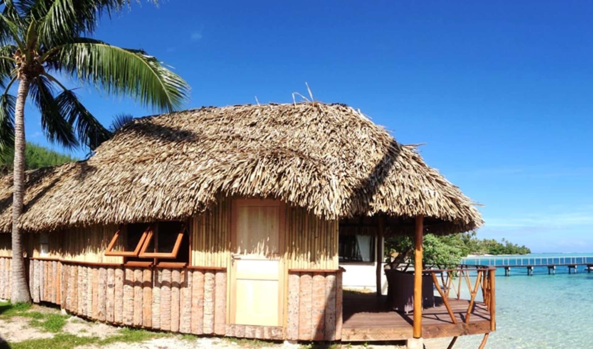 Le Mahana in Huahine:  Hotel Le Mahana - Traditionnal Fare (1)