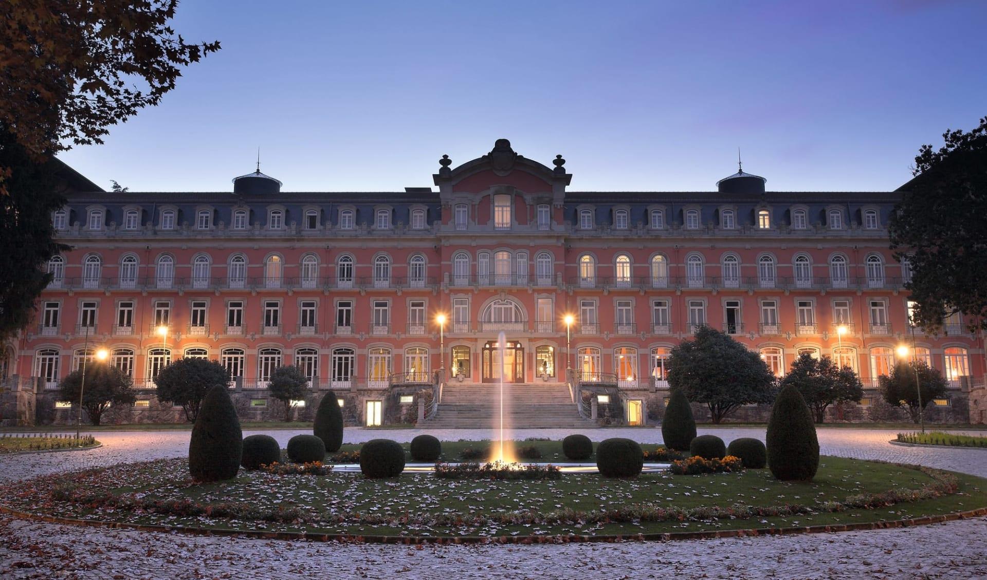Vidago Palace: Hotel Vidago Palace - Aussenansicht