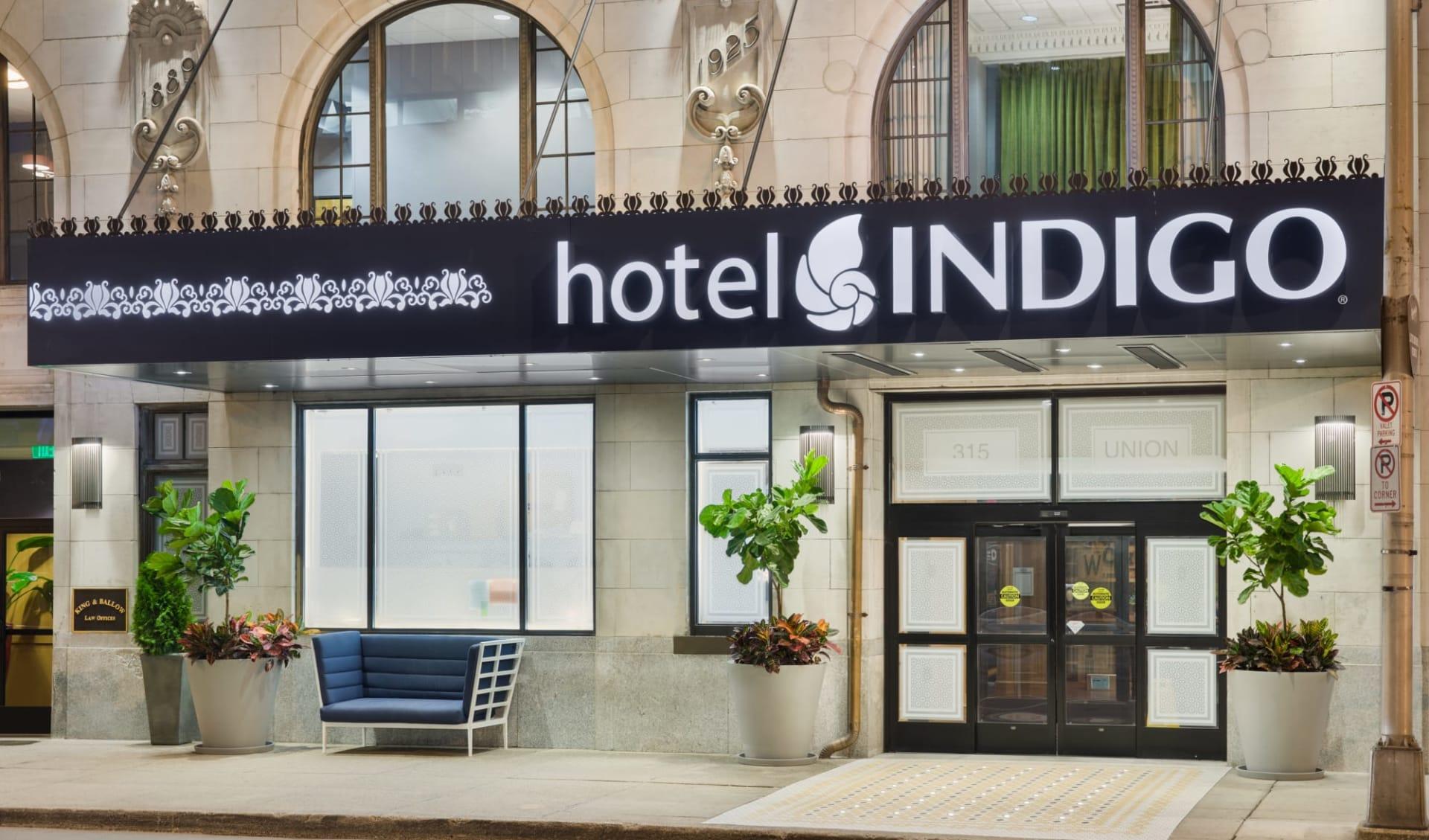 Hotel Indigo in Nashville:  Indigo Nashville - Eingang