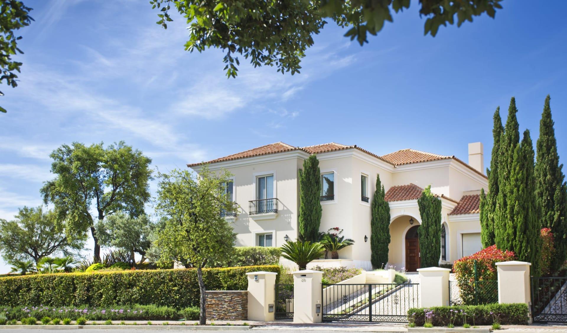 Monte Rei Golf & Country Club in Algarve:  Individual Villa - Front facade