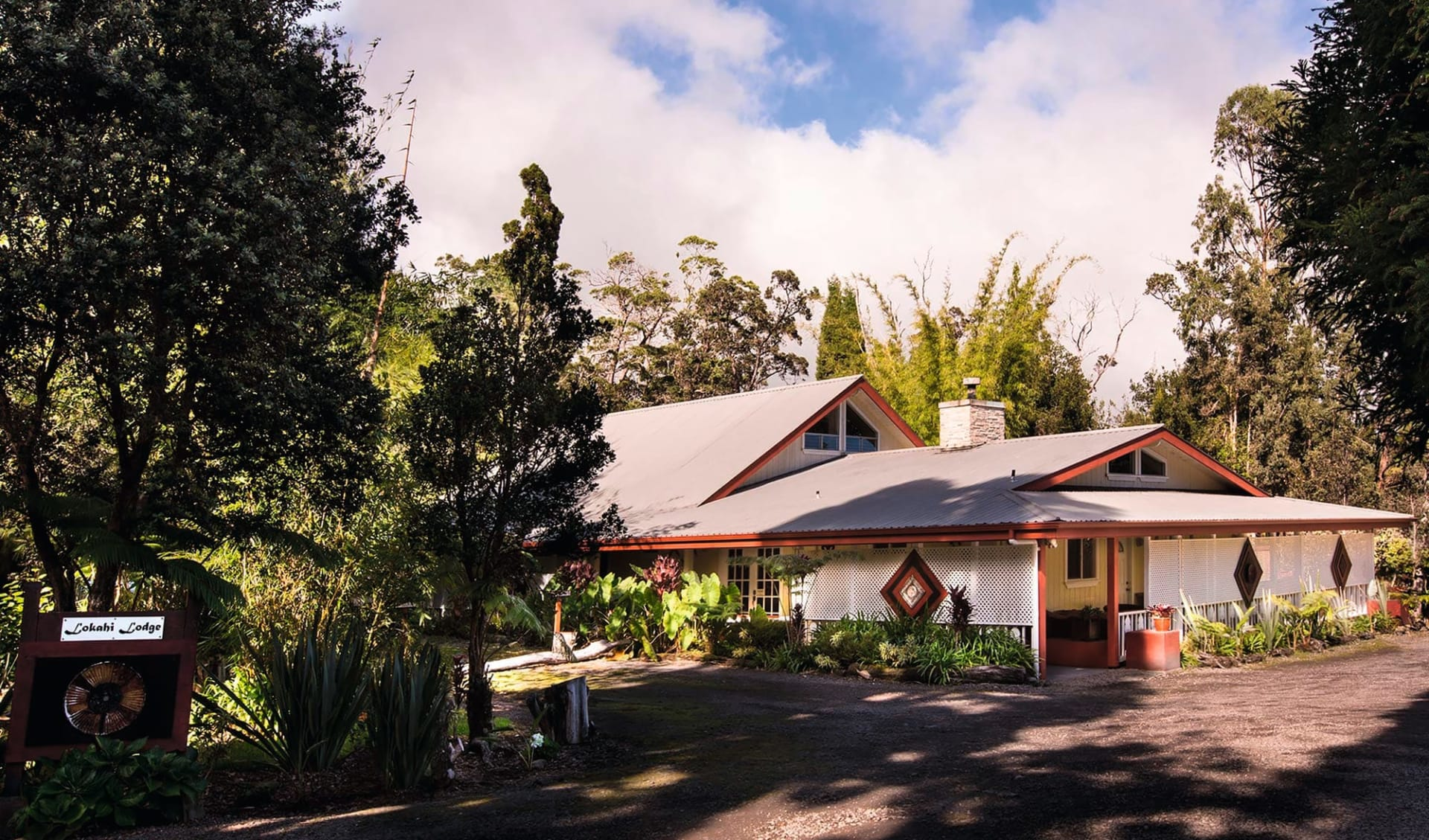 Chalet Kilauea - Lokahi Lodge in Hawaii Volcanoes National Park: Exterior_Lokahi Lodge-exterior-lg
