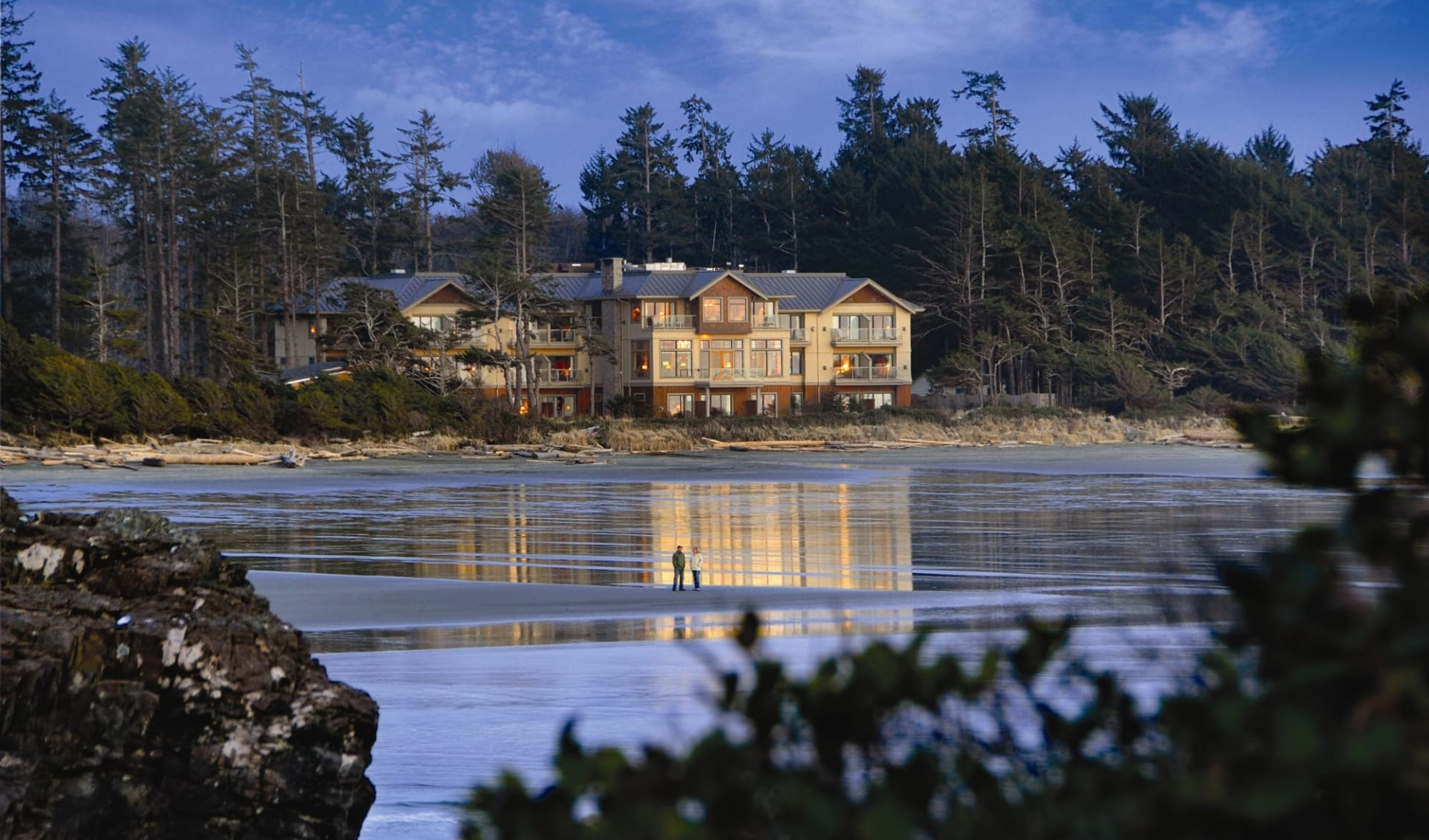 Long Beach Lodge Resort in Tofino:  Long Beach Lodge Resort_FrontView