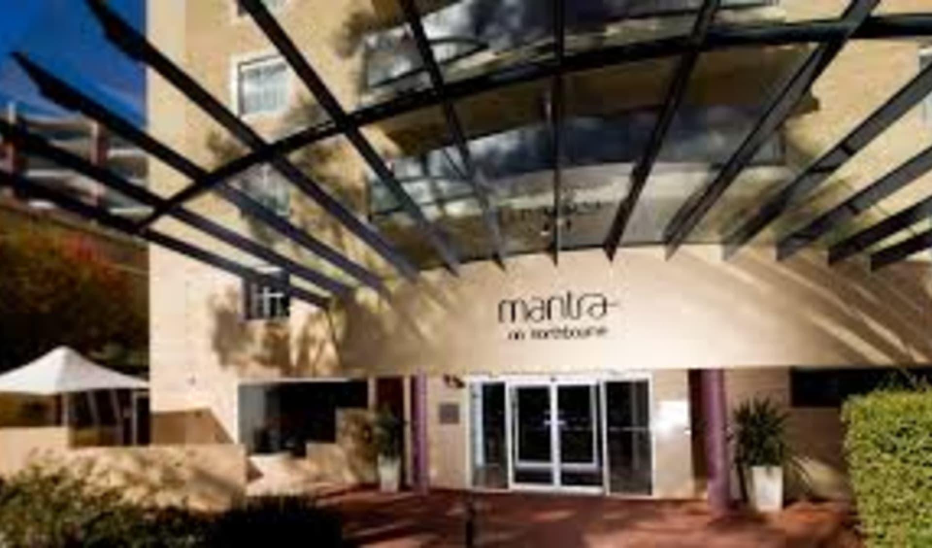 Mantra on Northbourne in Canberra:  Mantra on Northbound - Entrance