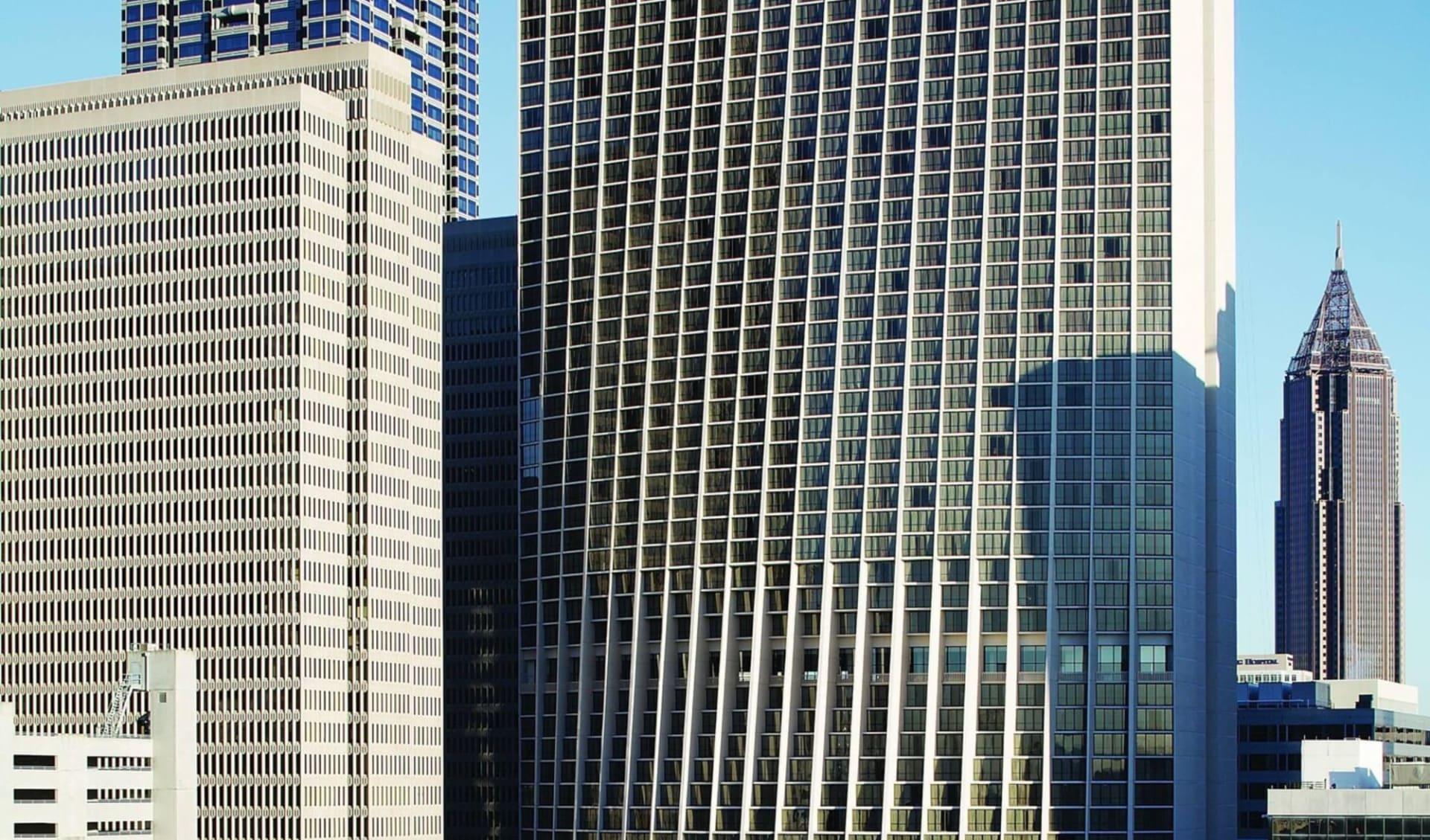 Marriott Marquis in Atlanta:  Marriott Marquis - Ansicht
